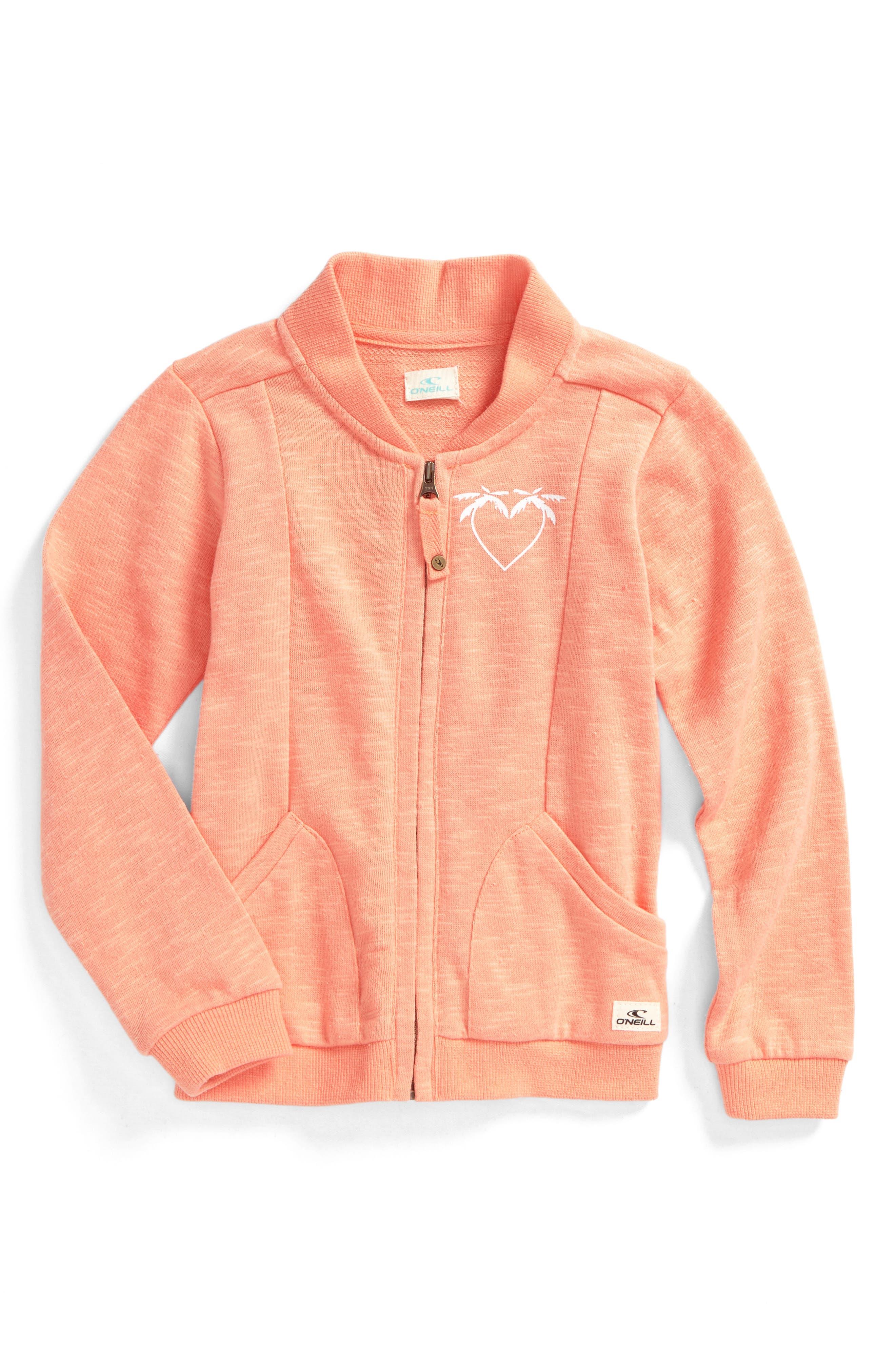 Val Jacket,                             Main thumbnail 1, color,                             Salmon - Sal