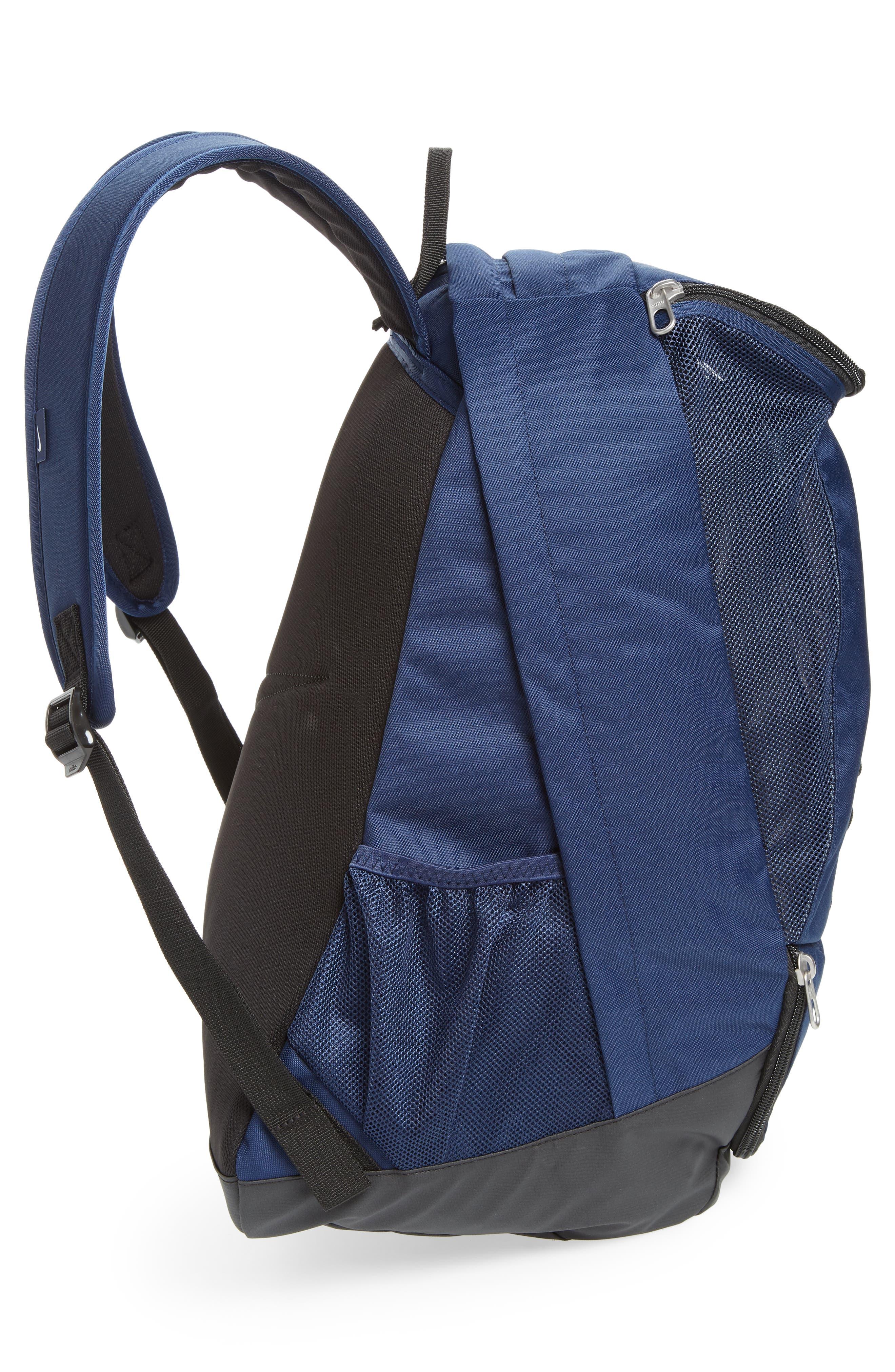 Club Team Backpack,                             Alternate thumbnail 4, color,                             Midnight Navy/ Black/ White
