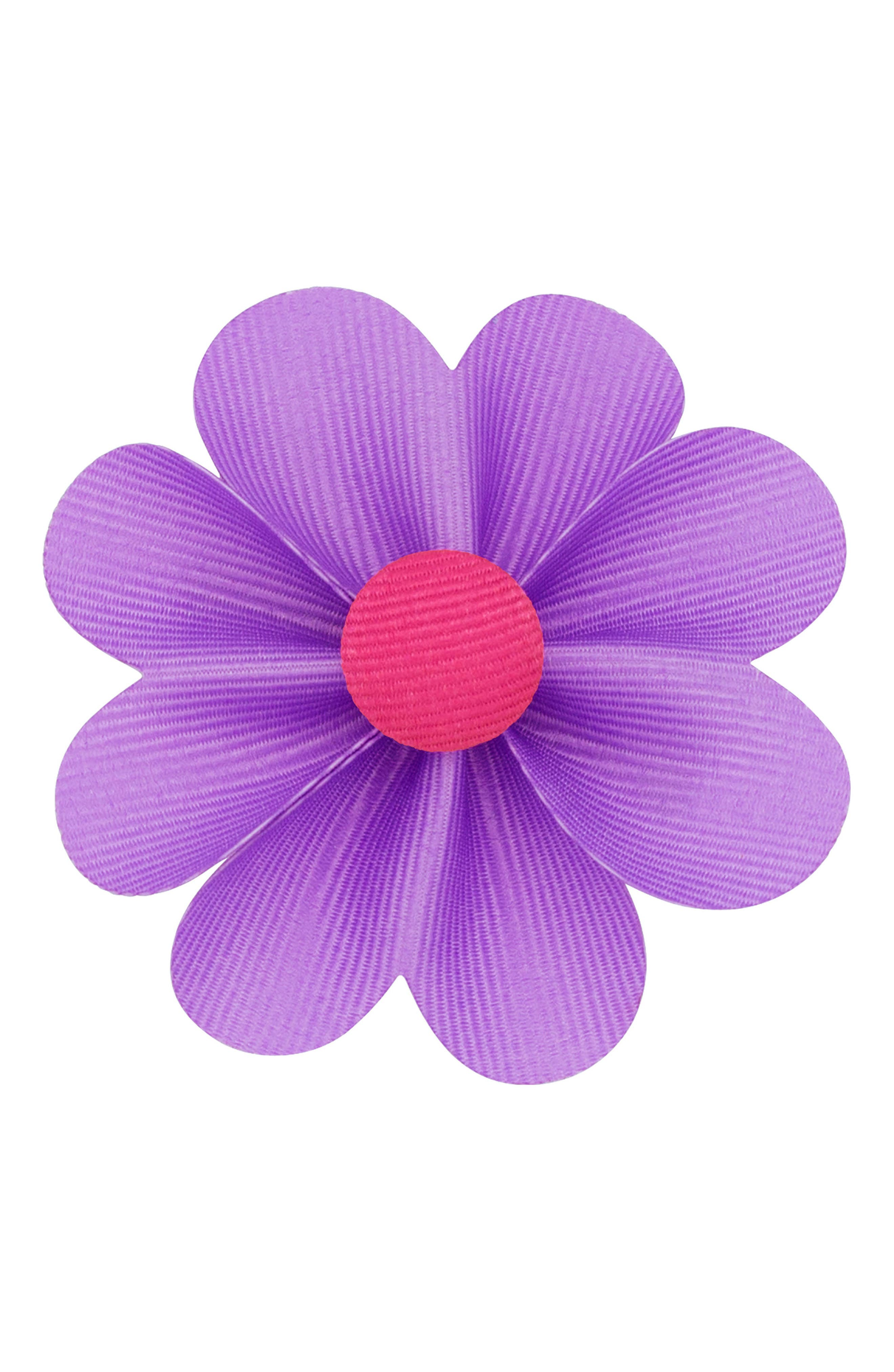Alternate Image 1 Selected - PLH Bows & Laces Flower Hair Clip (Baby Girls)