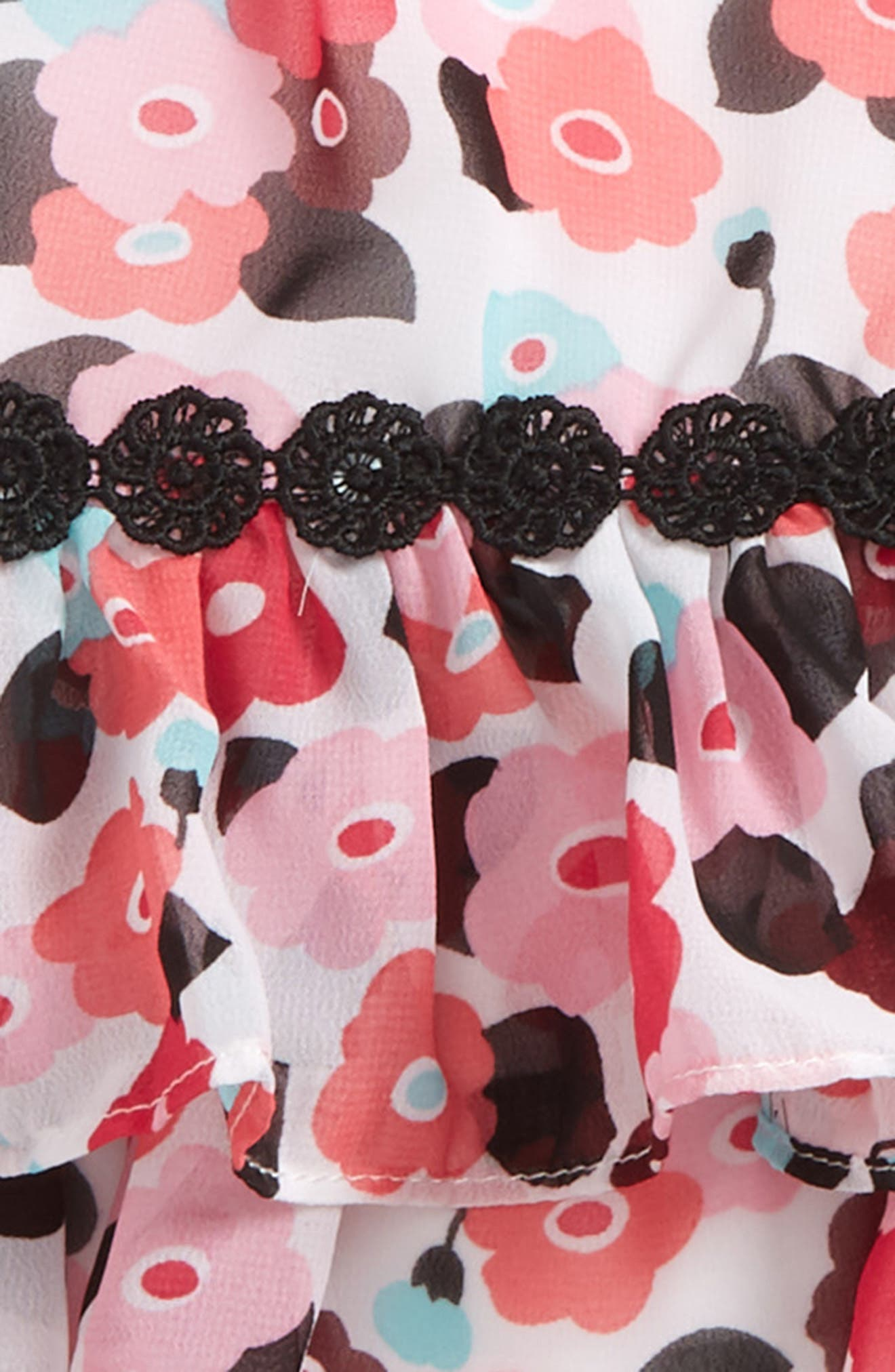 blooming floral dress,                             Alternate thumbnail 2, color,                             Blooming Floral