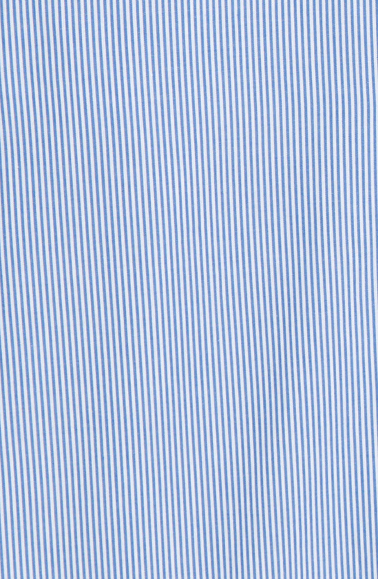 Stripe Dress Shirt,                             Alternate thumbnail 2, color,                             Blue Stripe