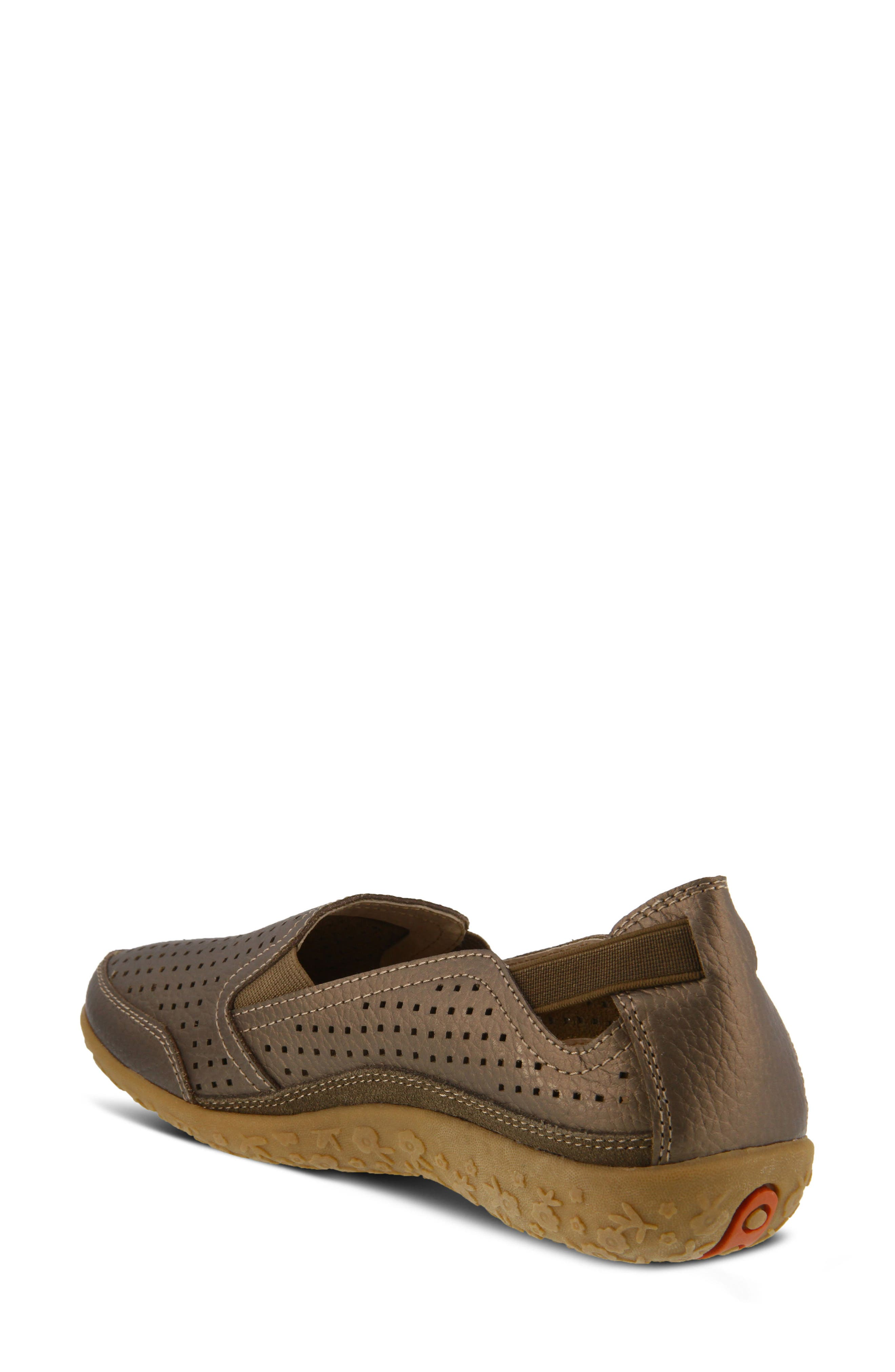 Juhi Loafer,                             Alternate thumbnail 2, color,                             Bronze Leather
