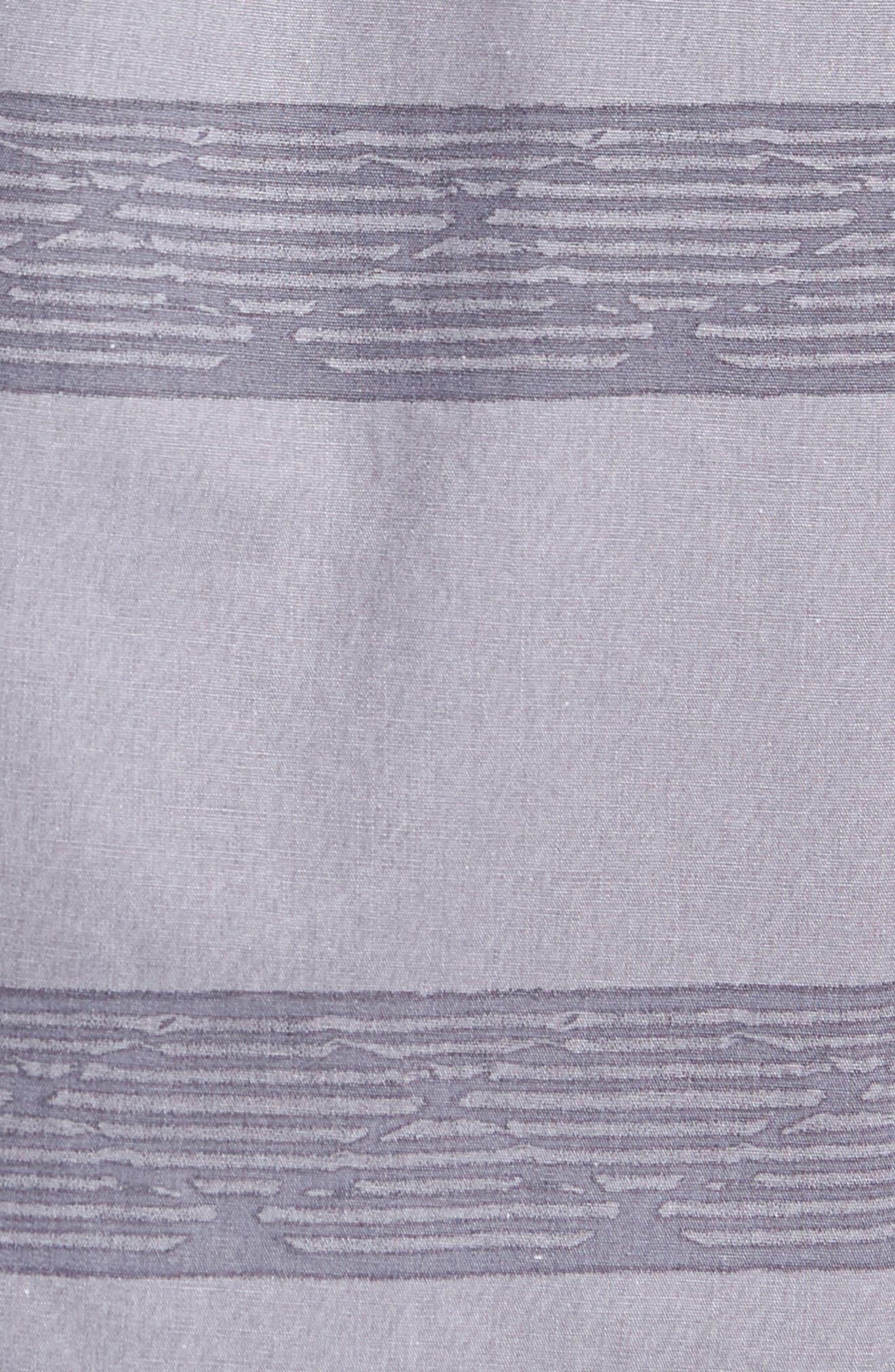 Wagner Woven Shirt,                             Alternate thumbnail 5, color,                             Fog