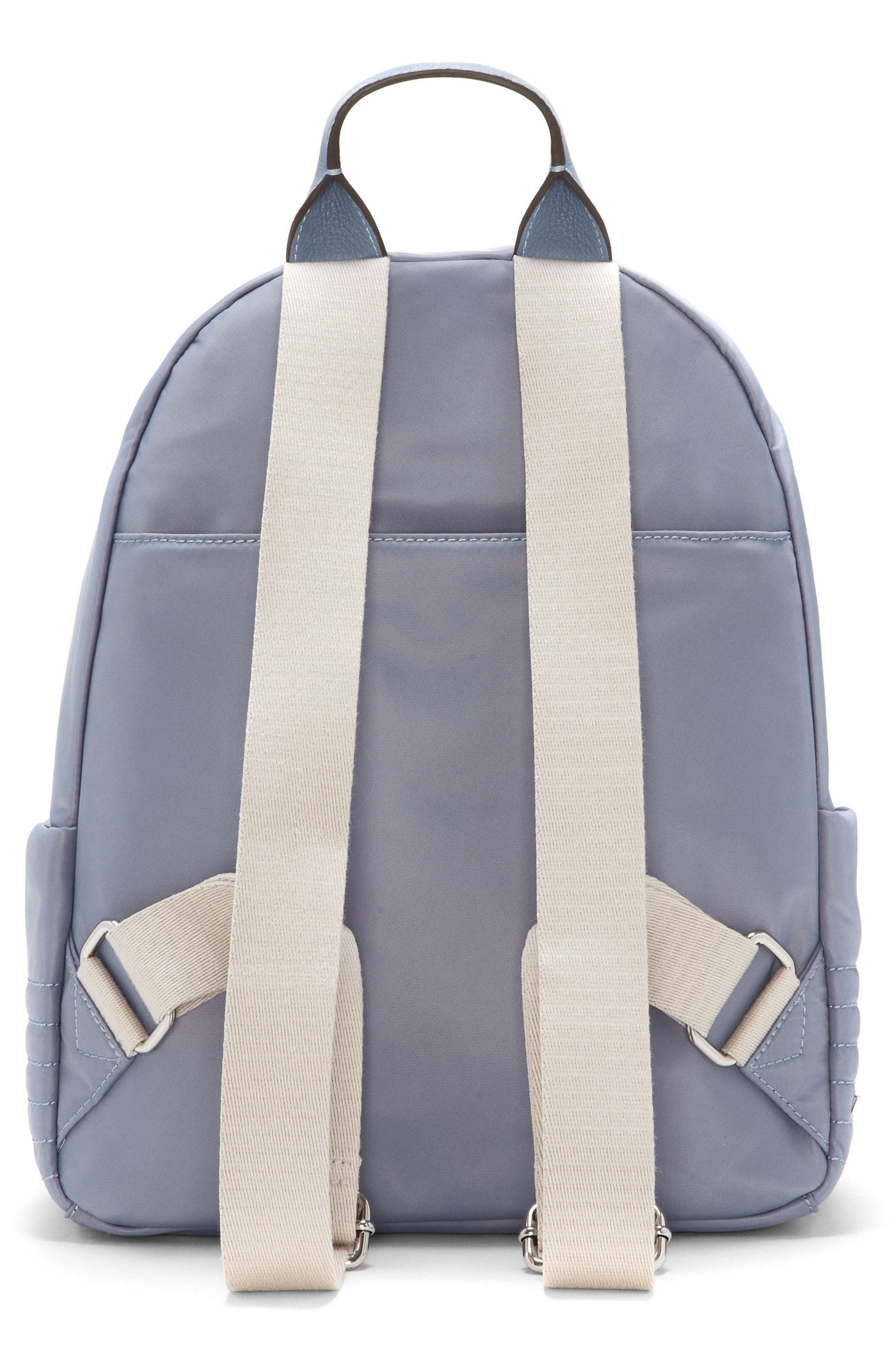 Action Nylon Backpack,                             Alternate thumbnail 2, color,                             Serenity Blue