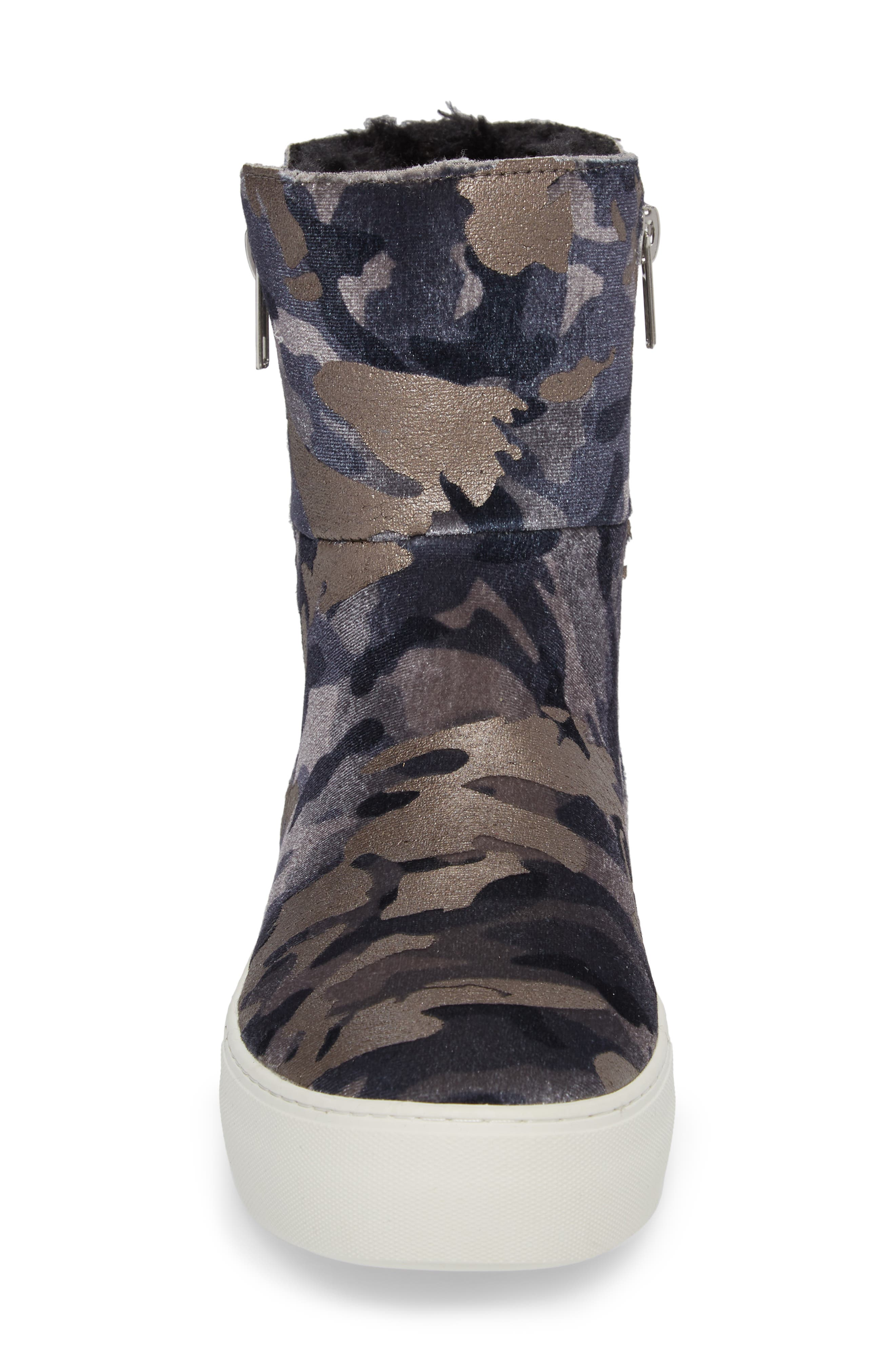 Garrson Sneaker Boot,                             Alternate thumbnail 4, color,                             Camouflage