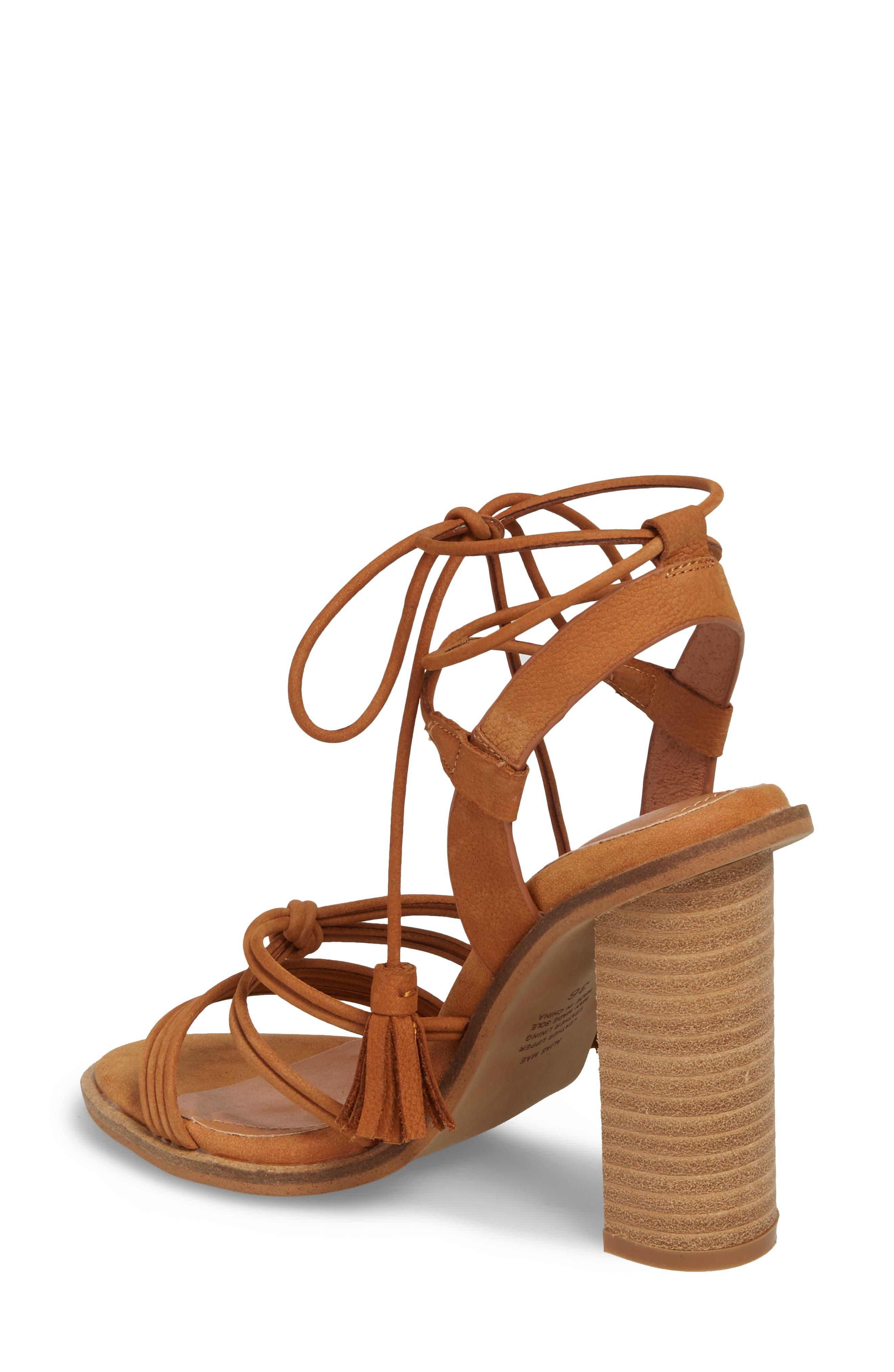 Adagio Sandal,                             Alternate thumbnail 2, color,                             Tan Leather
