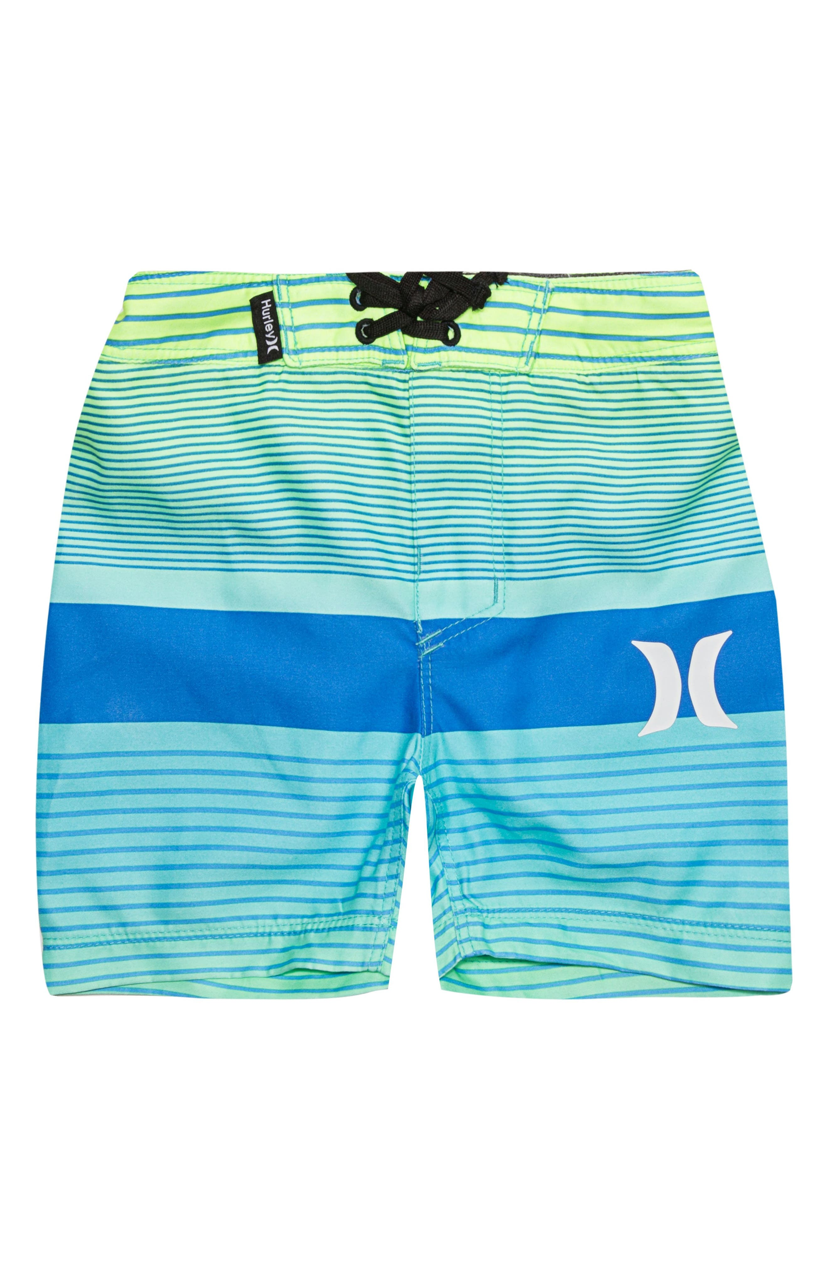 Line Up Board Shorts,                         Main,                         color, Ghost Green