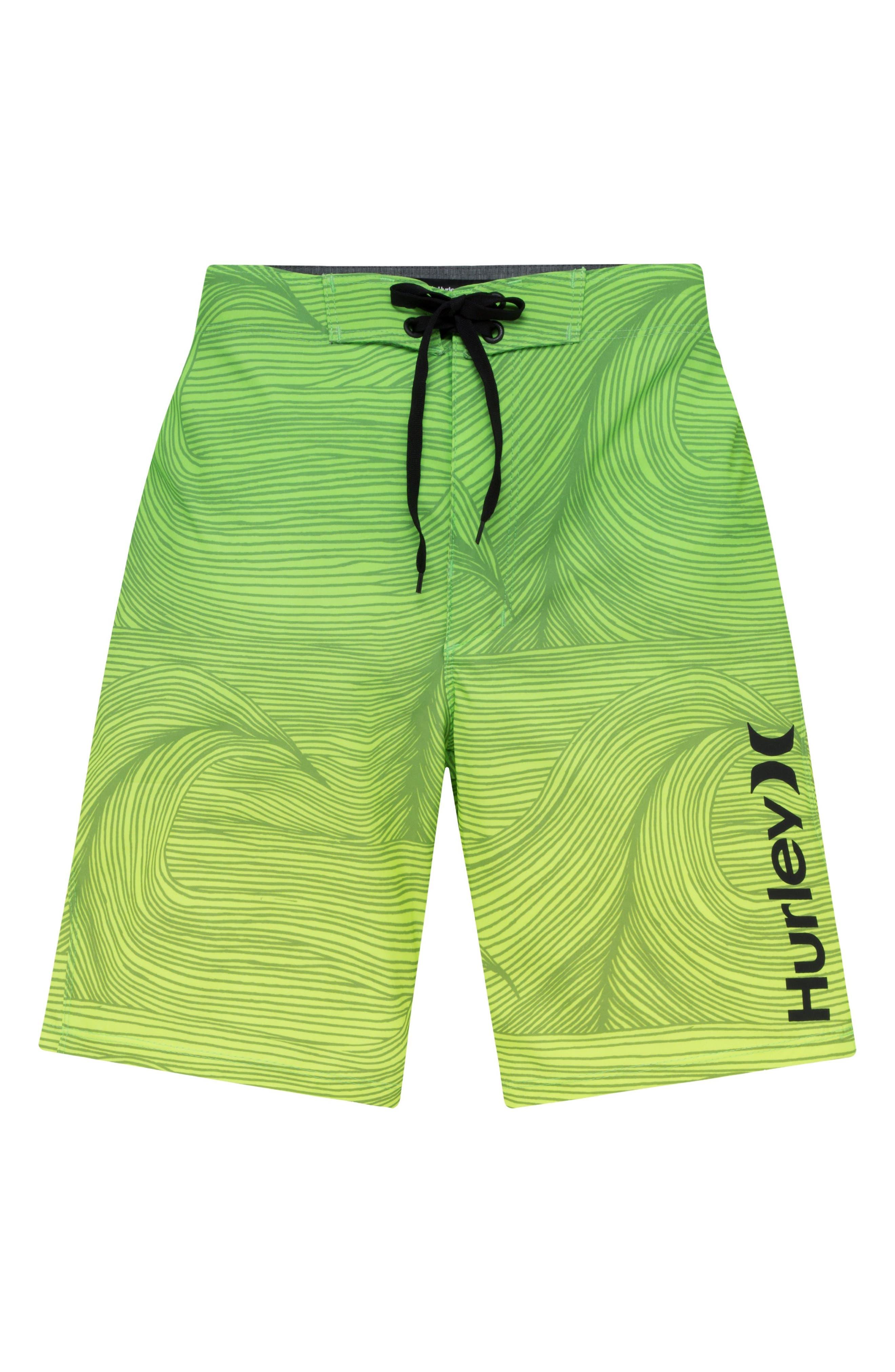 Phantom 30 Brooks Board Shorts,                         Main,                         color, Voltage Green