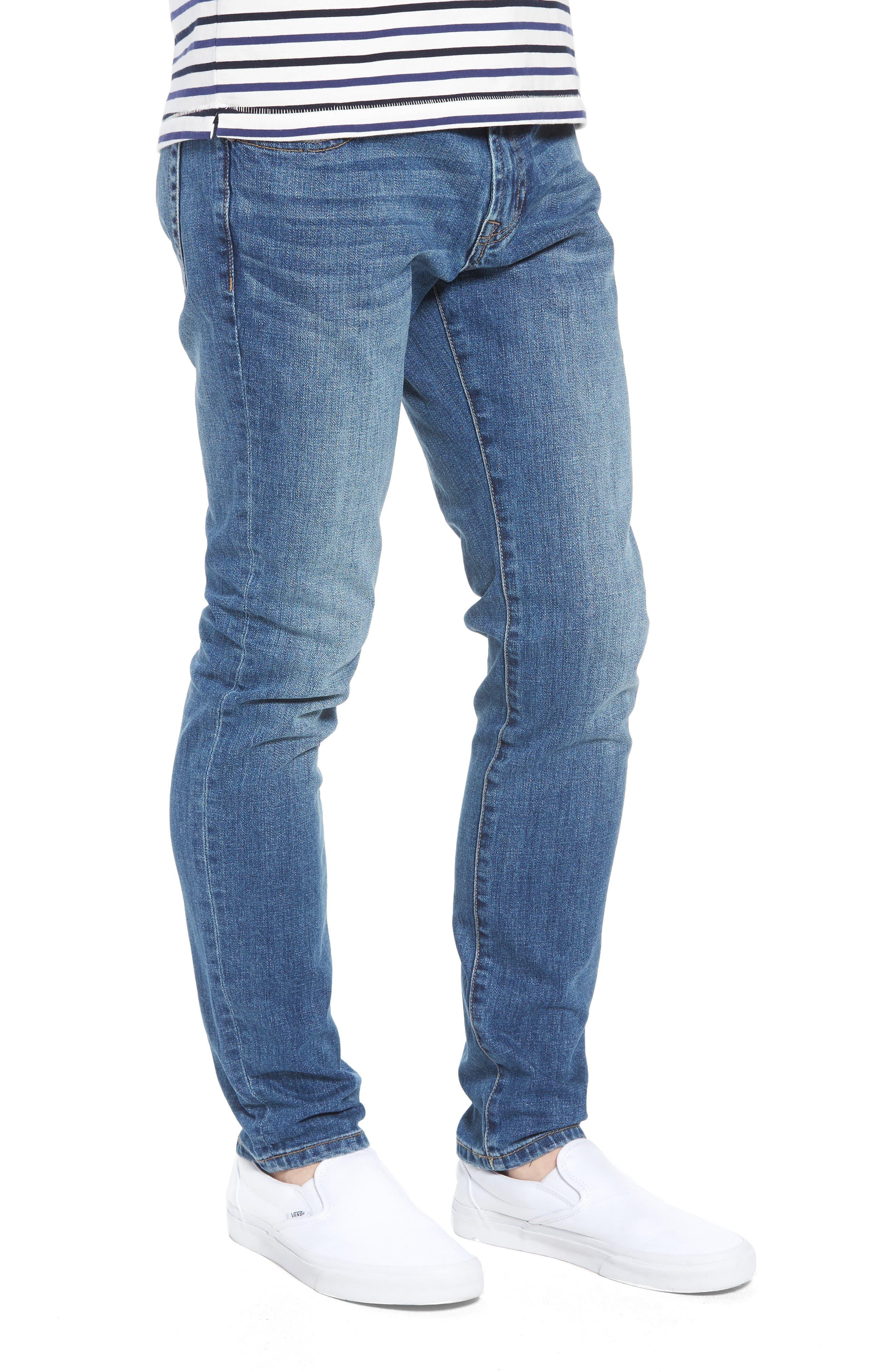 Jeans Co. Bond Skinny Fit Jeans,                             Alternate thumbnail 3, color,                             Bryson Vintage Medium