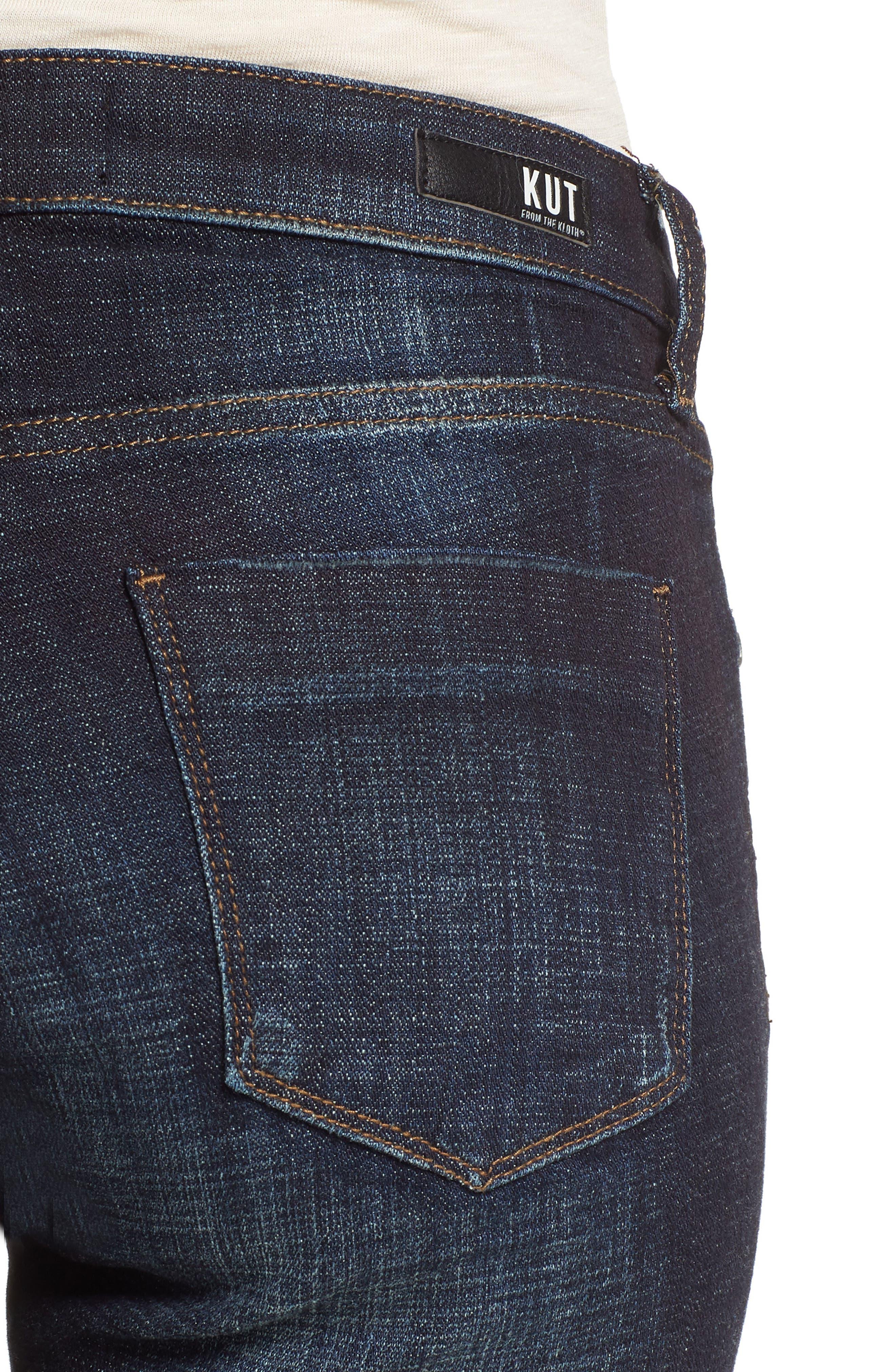Lauren Crop Jeans,                             Alternate thumbnail 4, color,                             Acknowledging