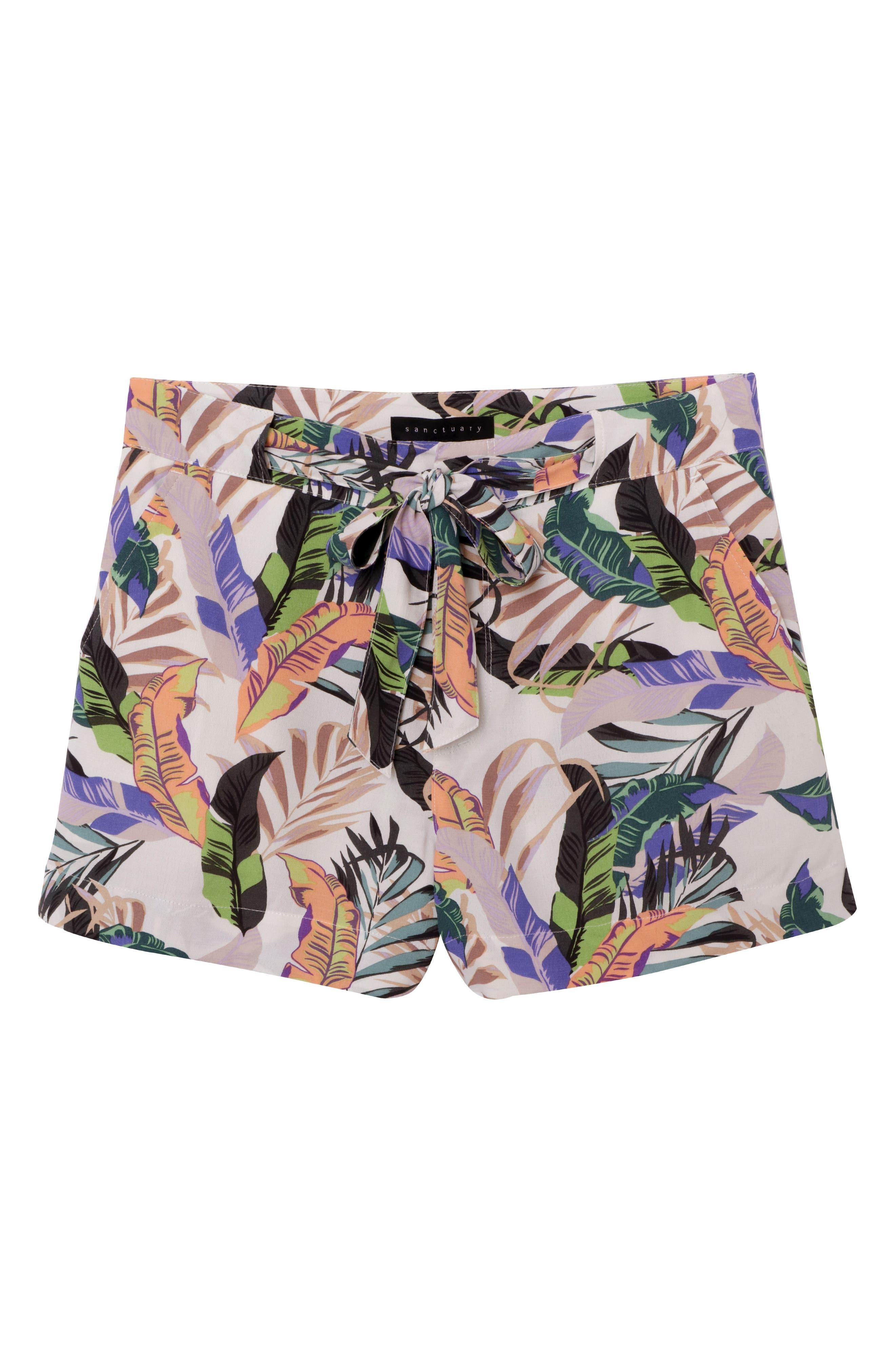 Wild Flower Shorts,                             Alternate thumbnail 5, color,                             Tropics