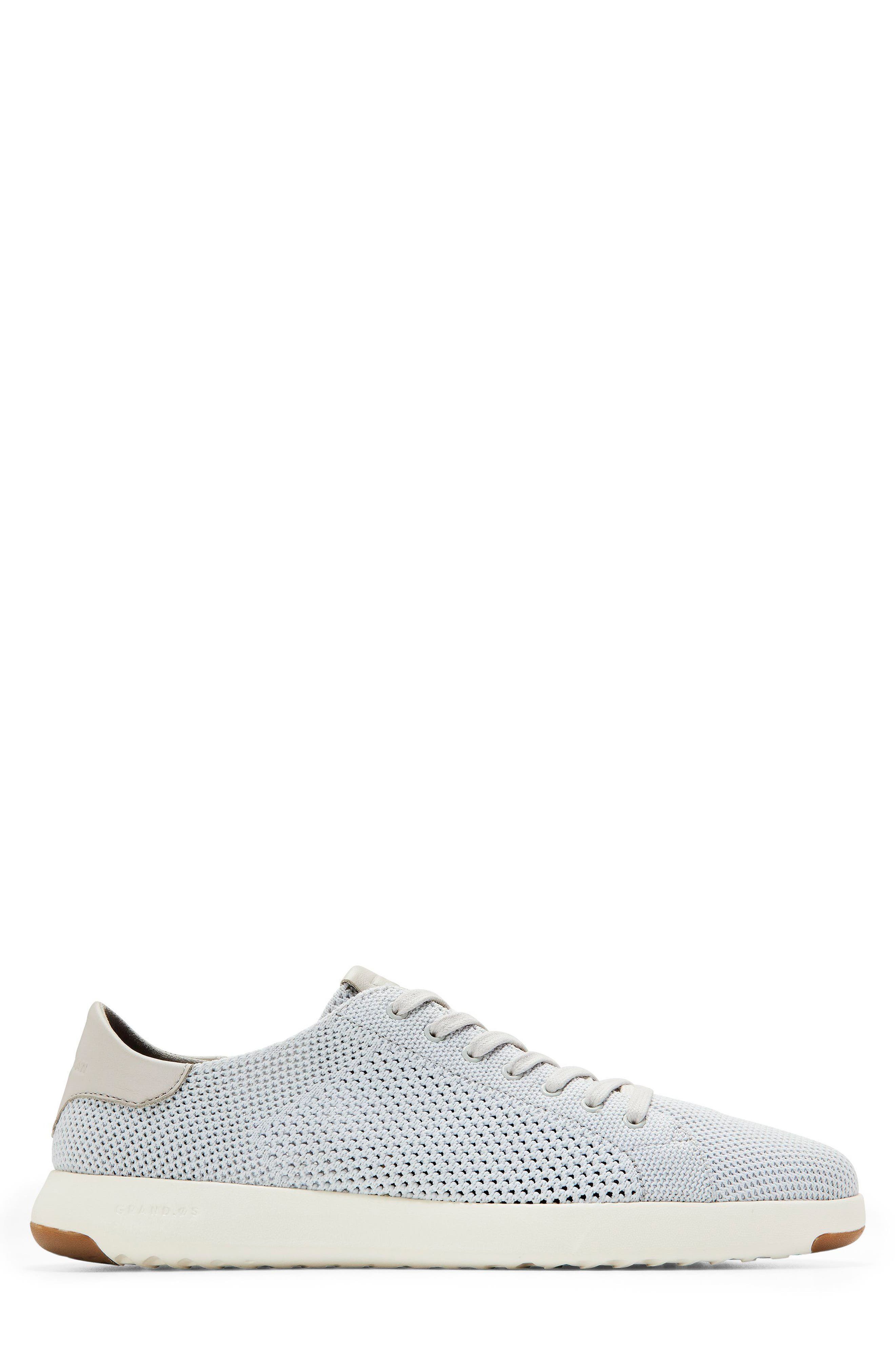 GrandPro Tennis Stitchlite Sneaker,                             Alternate thumbnail 3, color,                             Vapor Gray/ Optic White