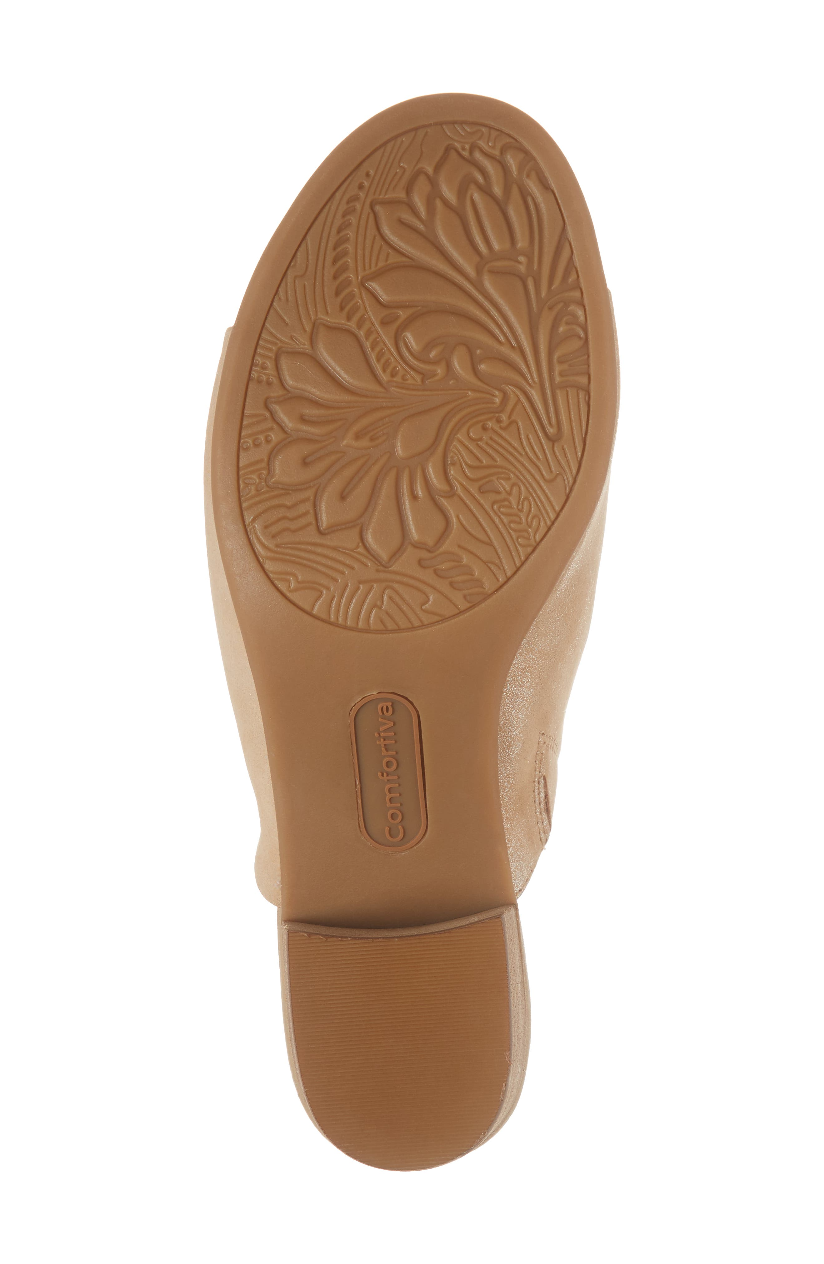 Anabella Sandal,                             Alternate thumbnail 6, color,                             Natural Leather