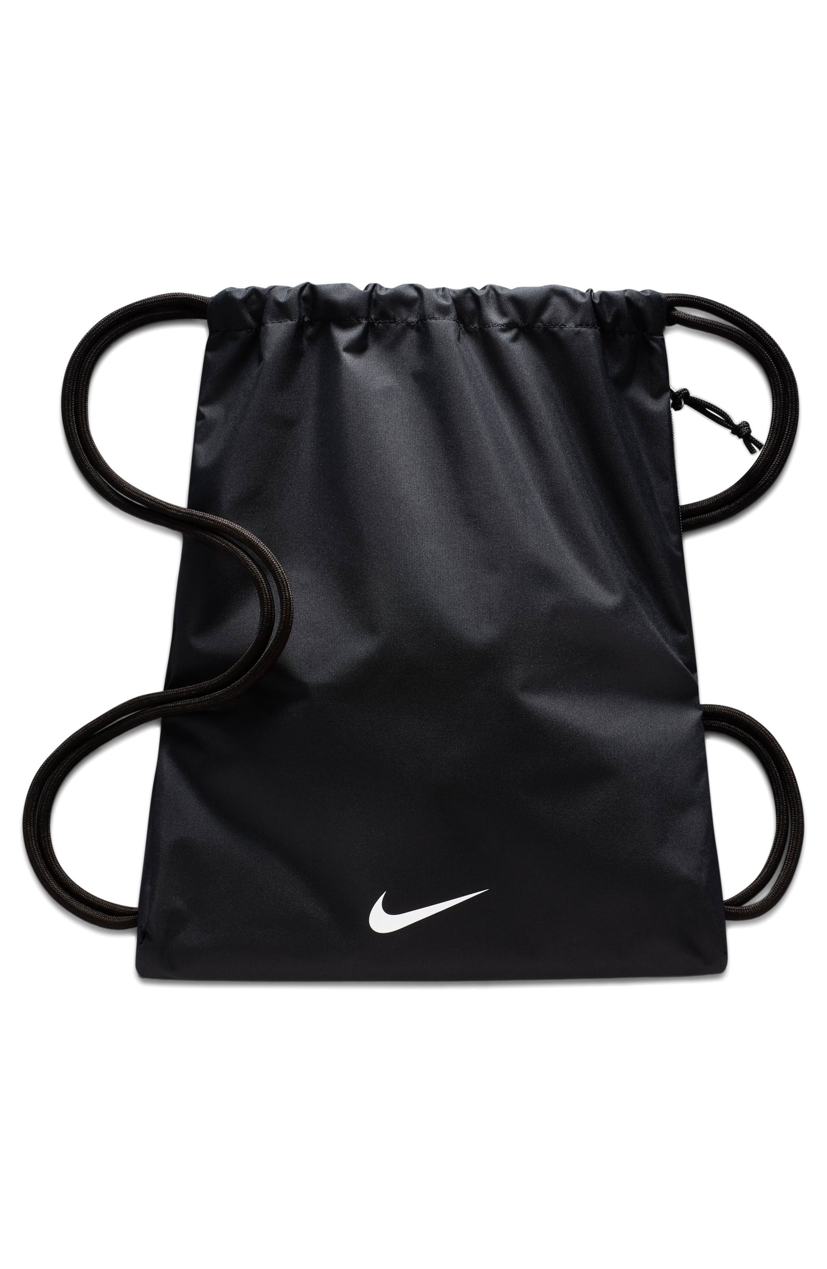 Sportswear Heritage Graphic Gymsack,                             Alternate thumbnail 2, color,                             Black/ Black/ White