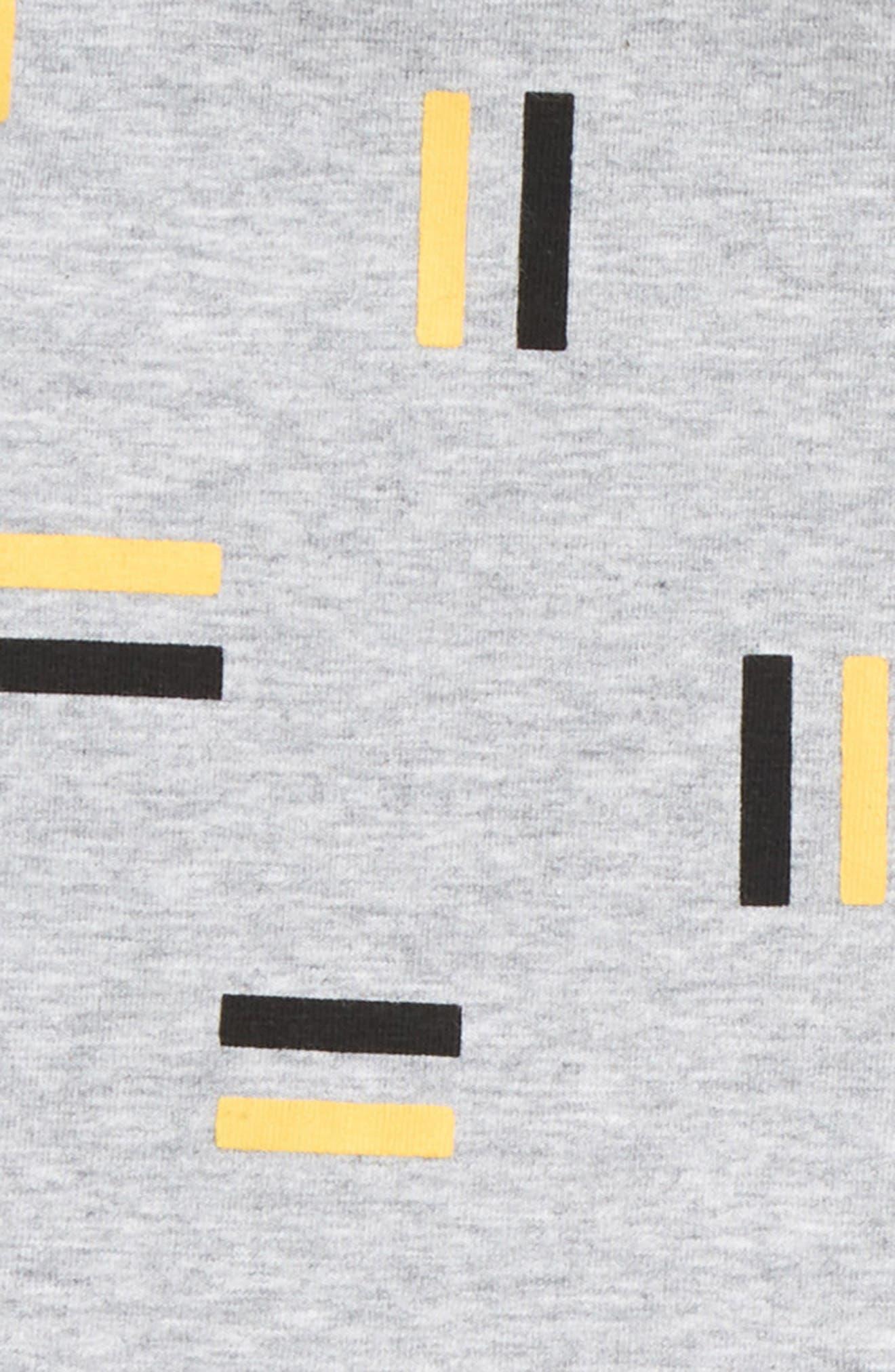 Pause Shirt & Pants Set,                             Alternate thumbnail 2, color,                             Grey/ Black