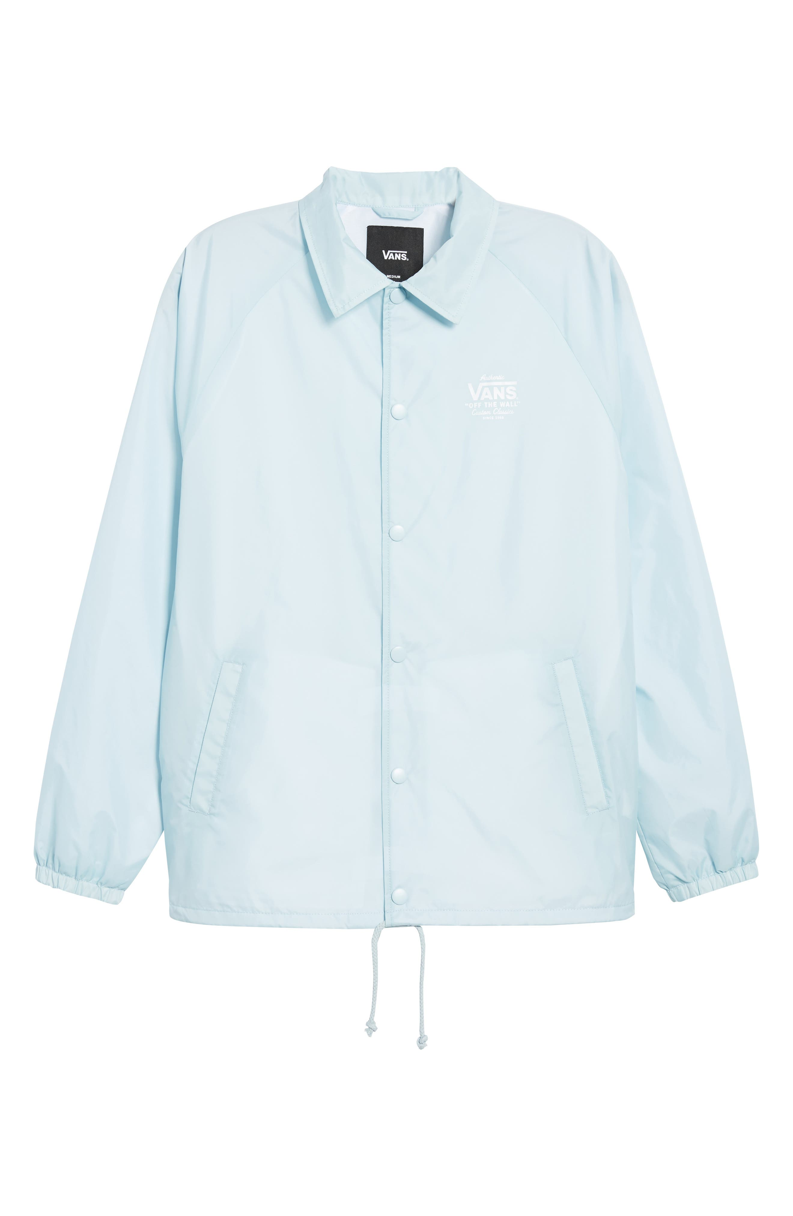 Torrey Water Resistant Jacket,                             Alternate thumbnail 5, color,                             Baby Blue