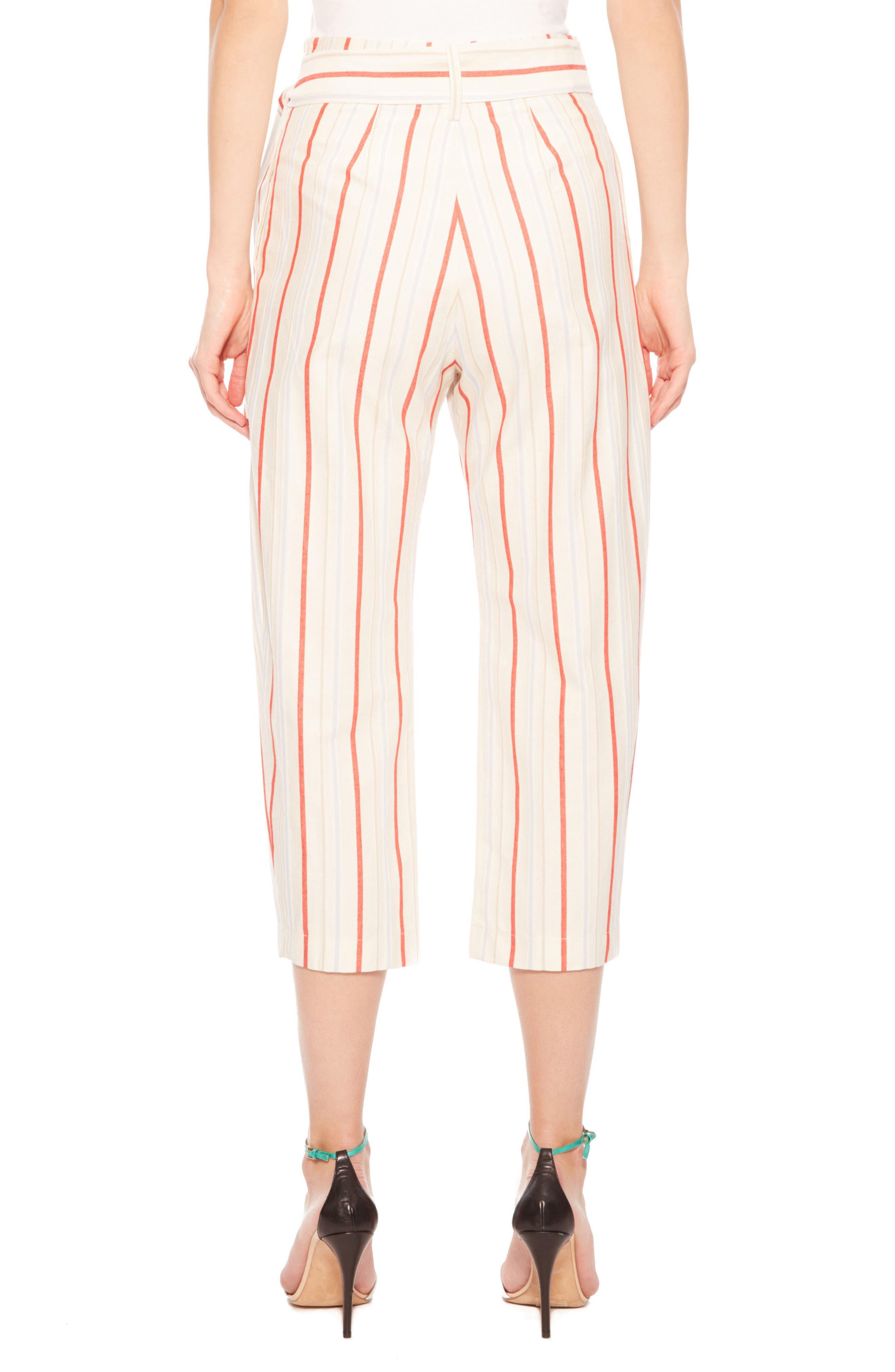Ramsey Stripe Cotton Twill Pants,                             Alternate thumbnail 3, color,                             Multi