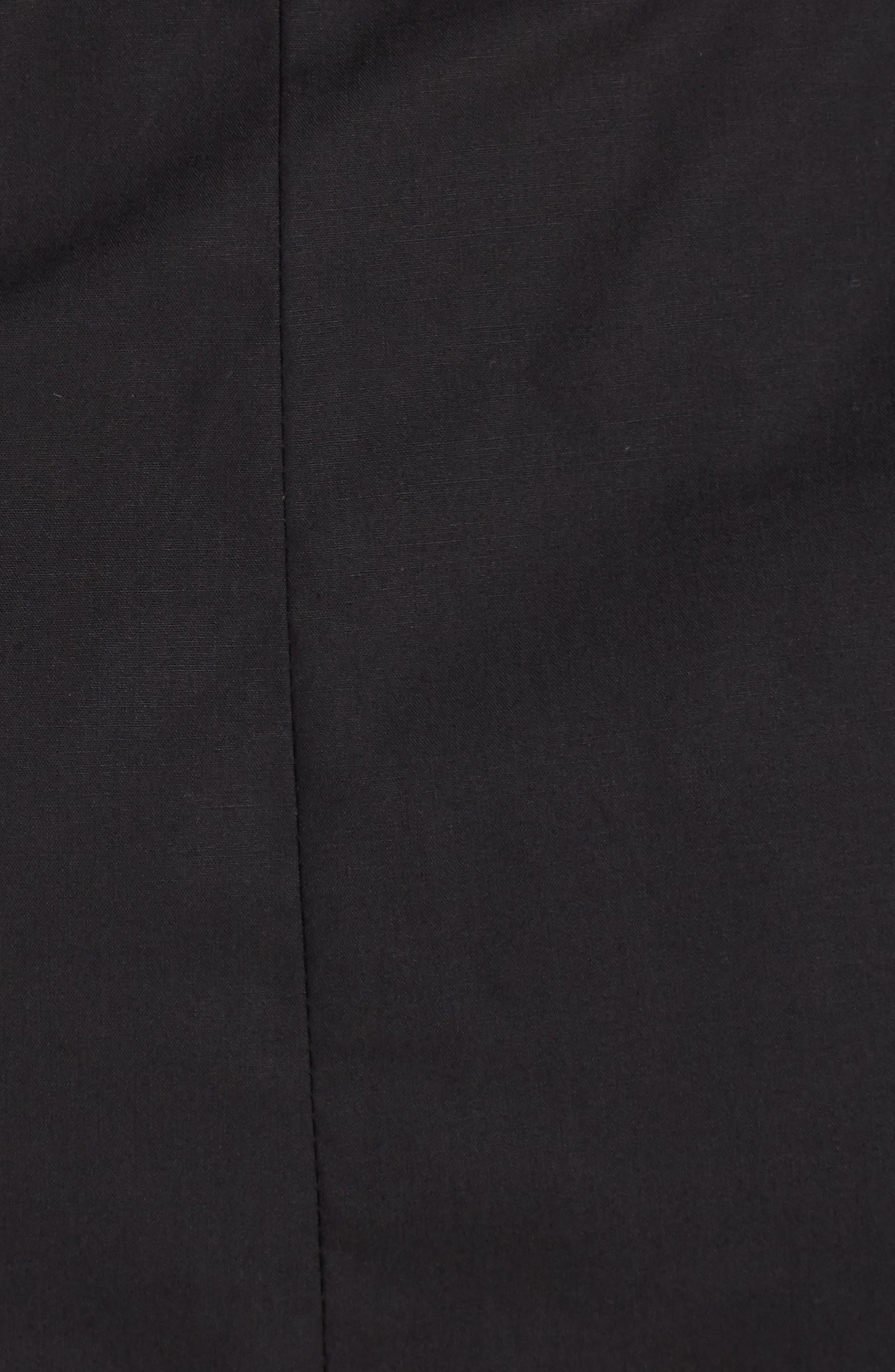 Ultimate Desire Off the Shoulder Minidress,                             Alternate thumbnail 5, color,                             Black
