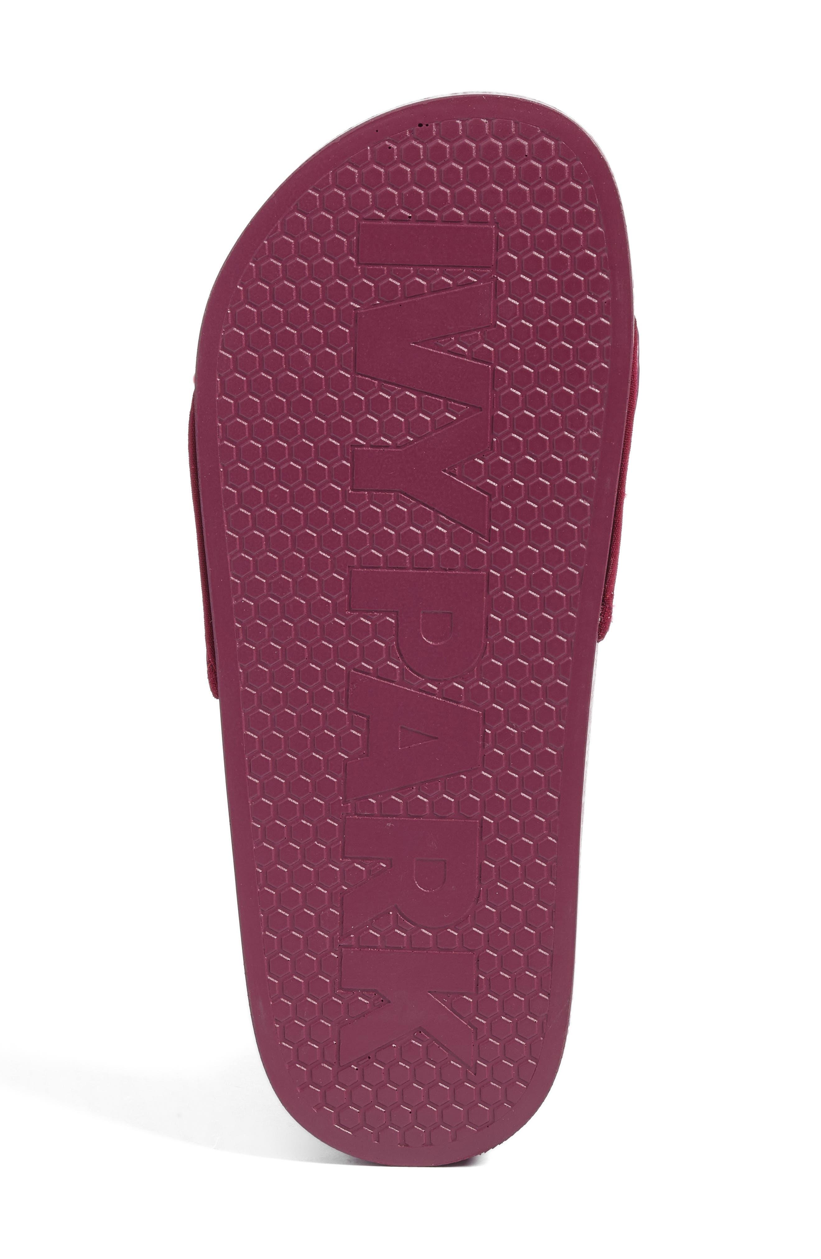 Slide Sandal,                             Alternate thumbnail 6, color,                             Plum