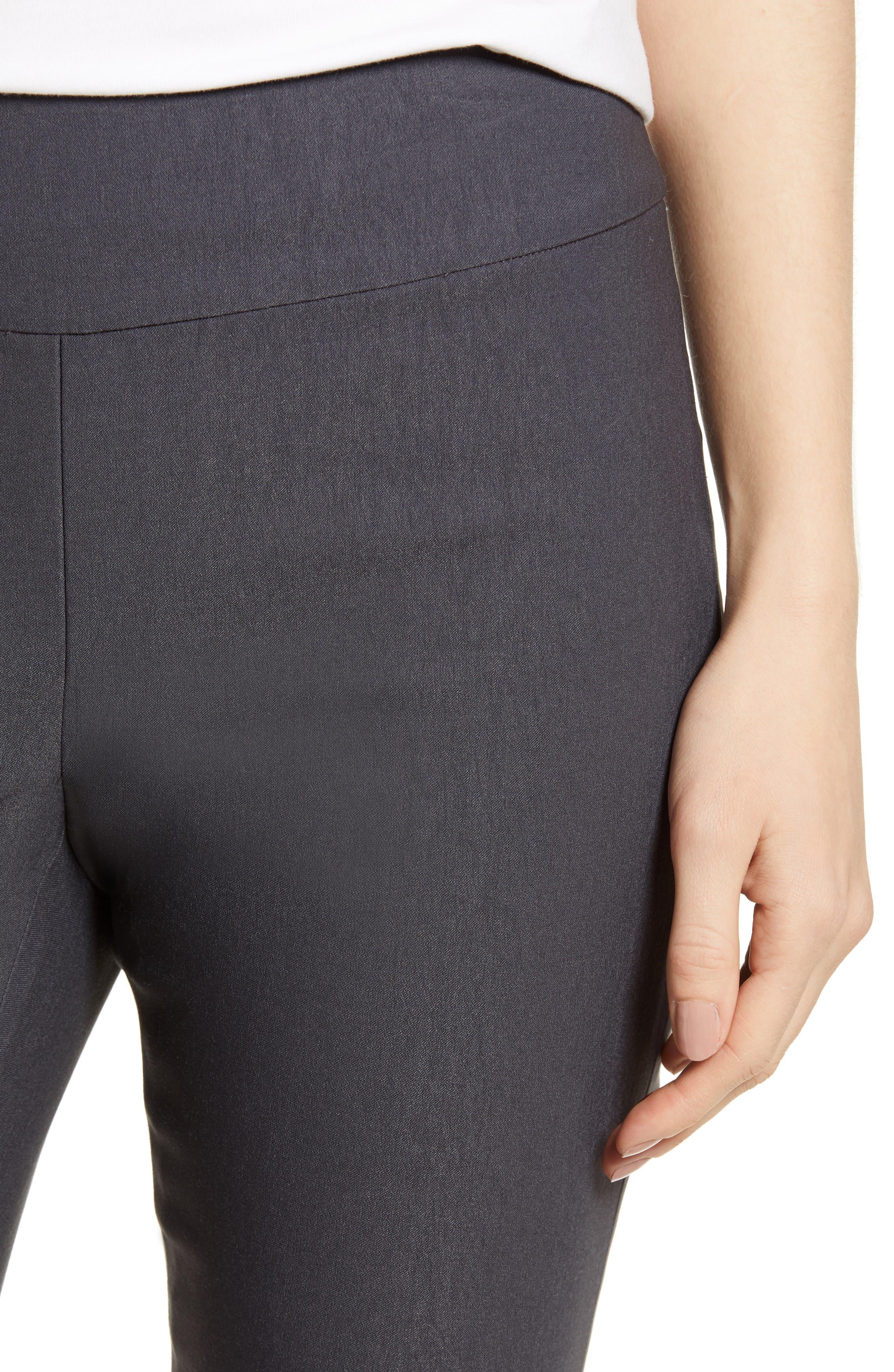 NIC + ZOE Wonderstretch Slim Pants,                             Alternate thumbnail 4, color,                             Ink