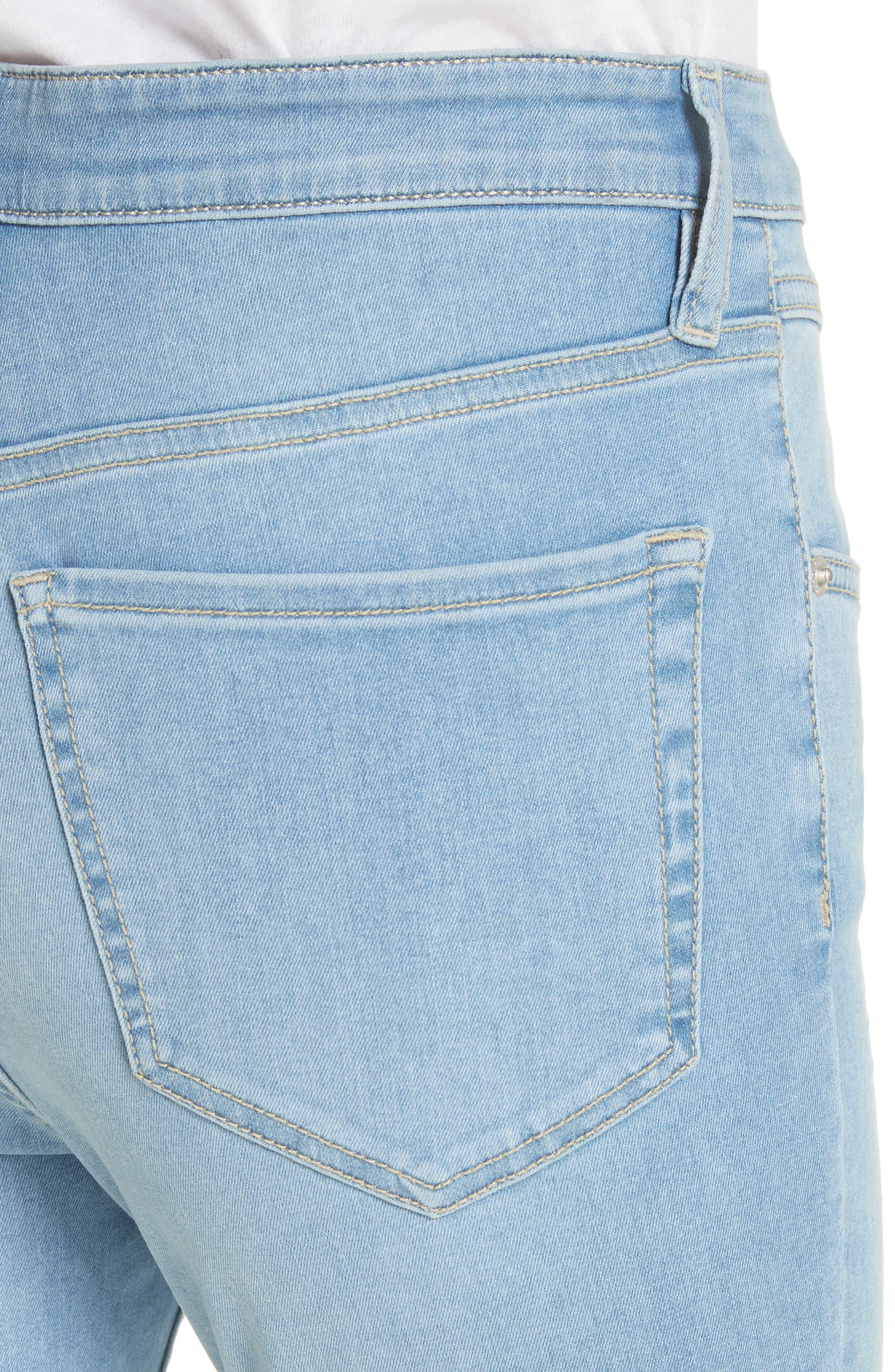 Mara Skinny Jeans,                             Alternate thumbnail 4, color,                             Blue