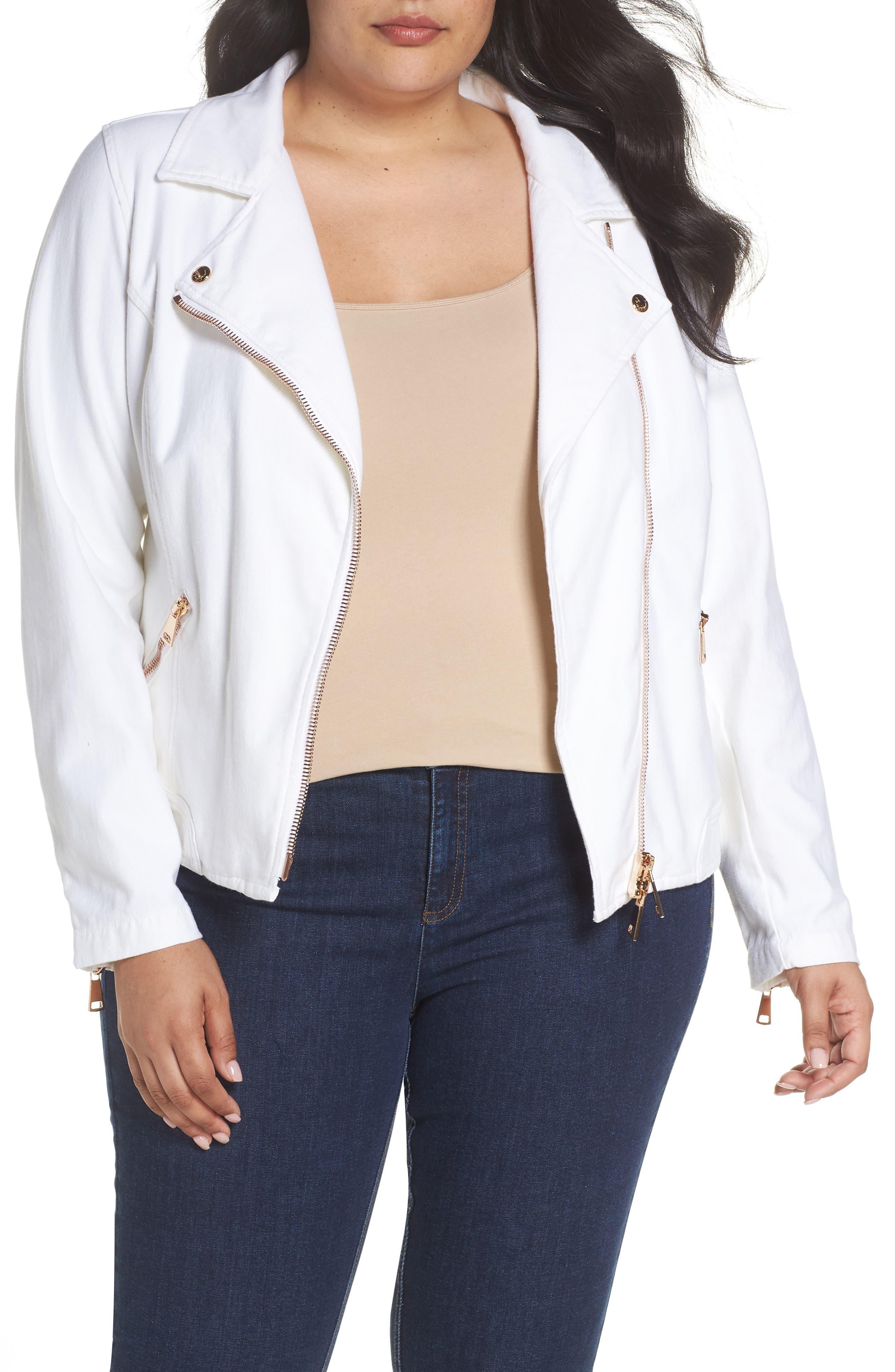 Ashley Graham x Marina Rinaldi Camogli Denim Jacket (Plus Size)