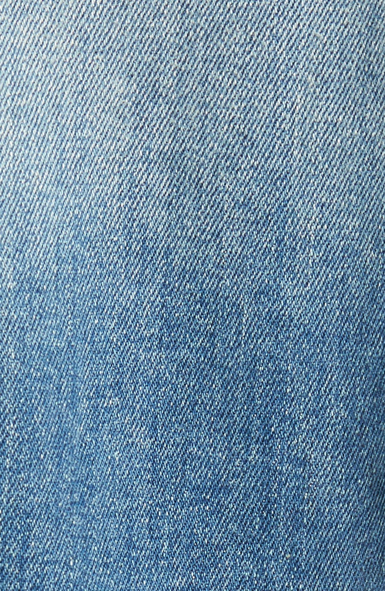 Classic Trucker Jacket,                             Alternate thumbnail 5, color,                             Illinois Light Blue Stretch
