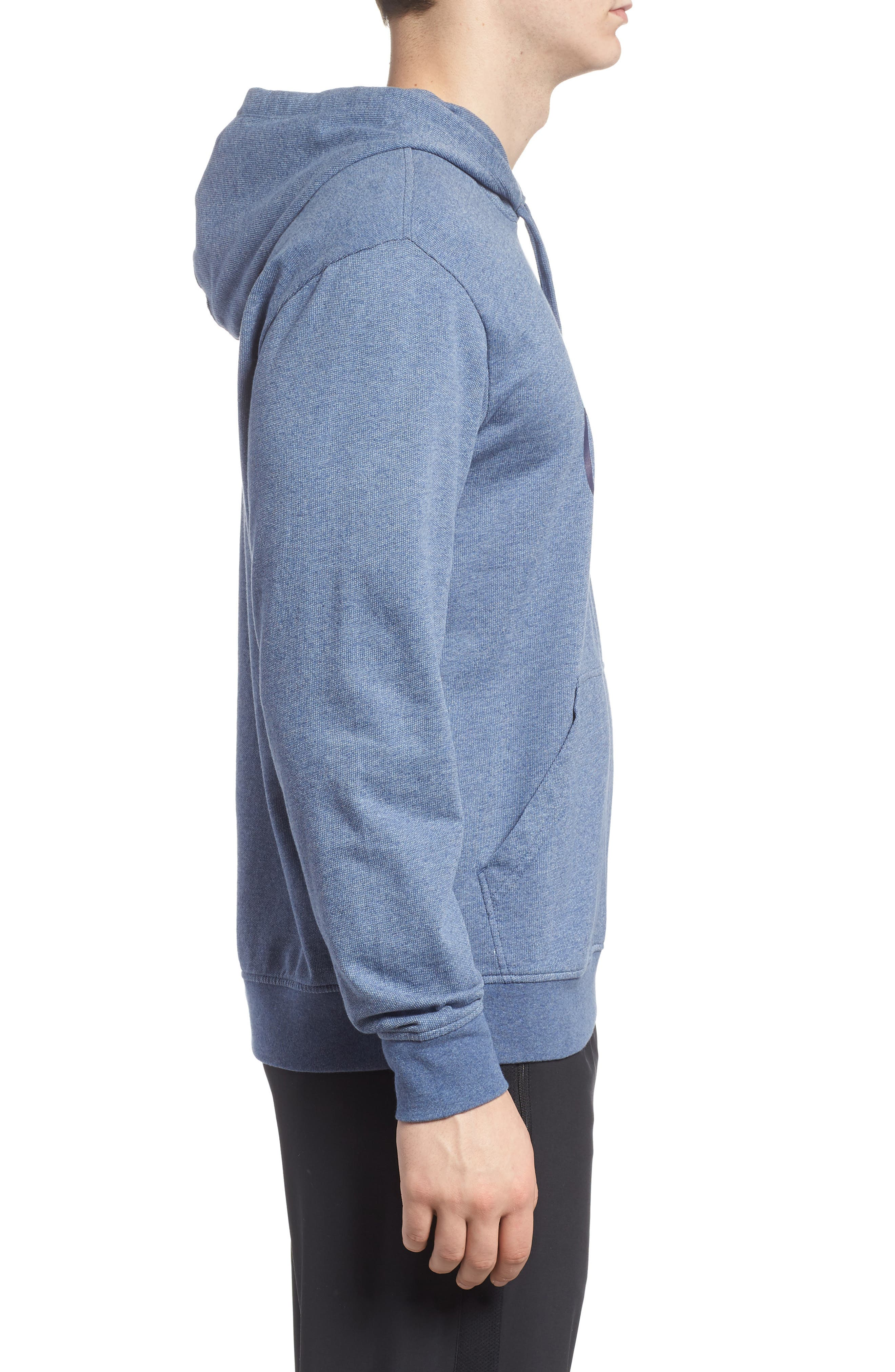 Polycycle Hoodie,                             Alternate thumbnail 3, color,                             Feather Grey