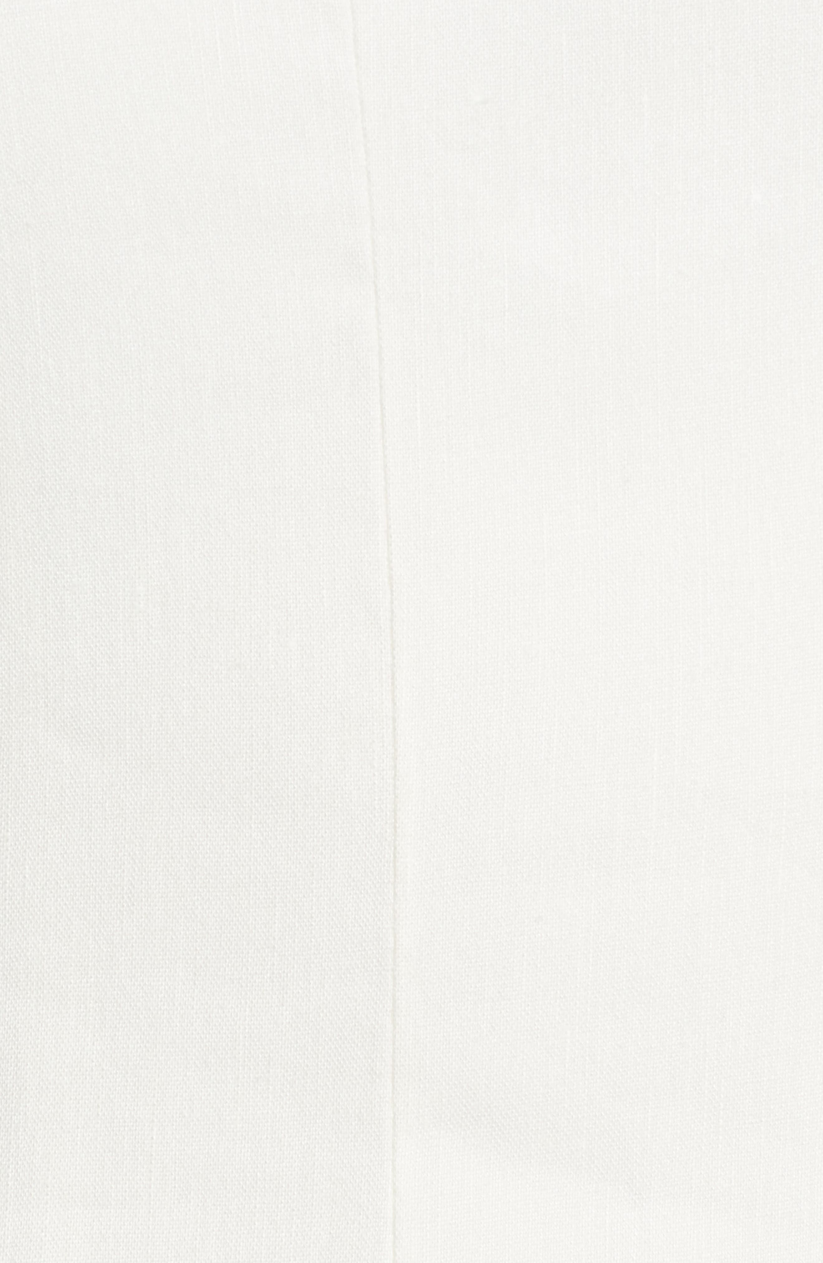 Halter Midi Dress,                             Alternate thumbnail 5, color,                             Ivory
