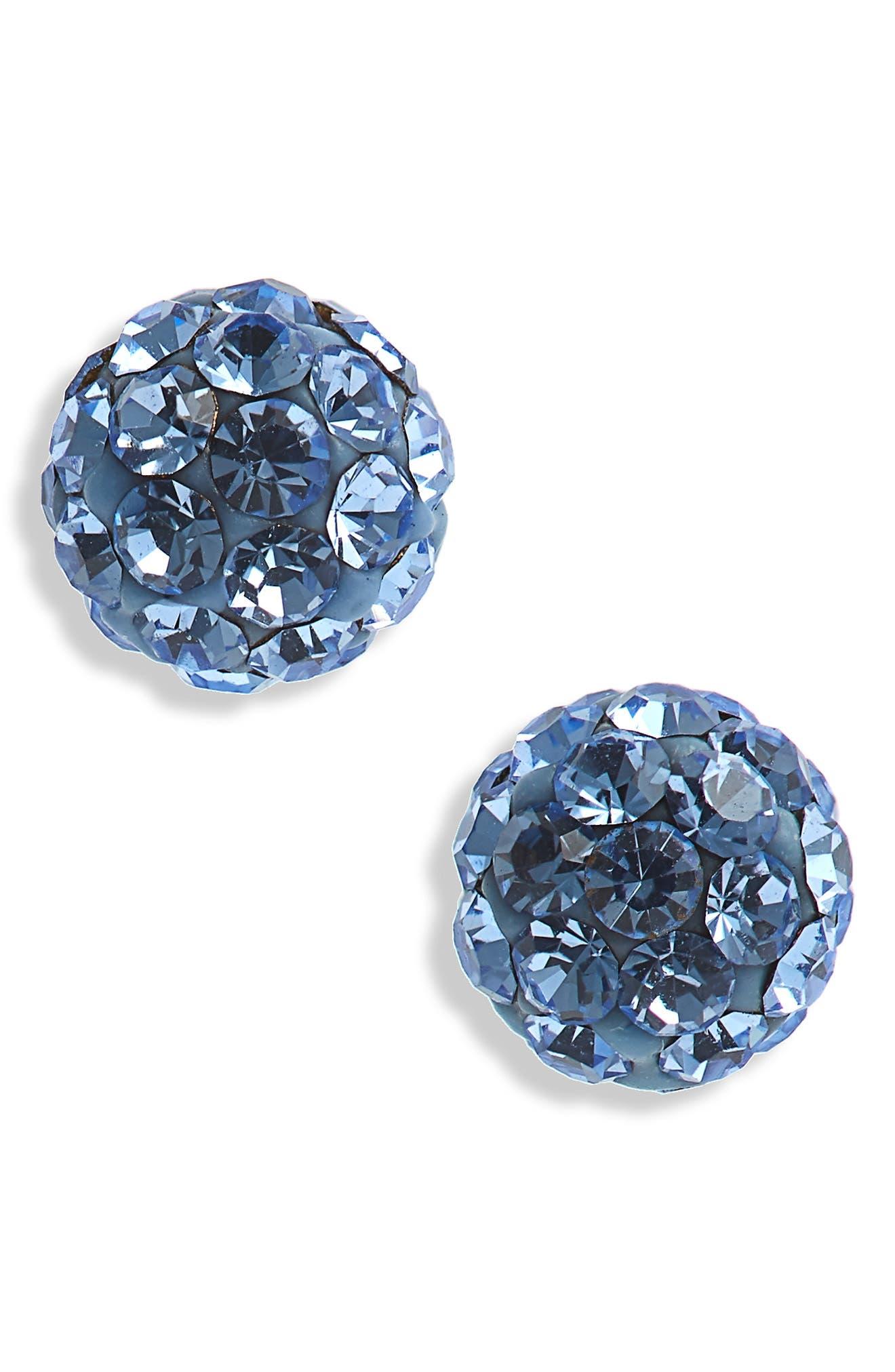 Tomas Crystal & Sterling Silver Earrings (Girls)
