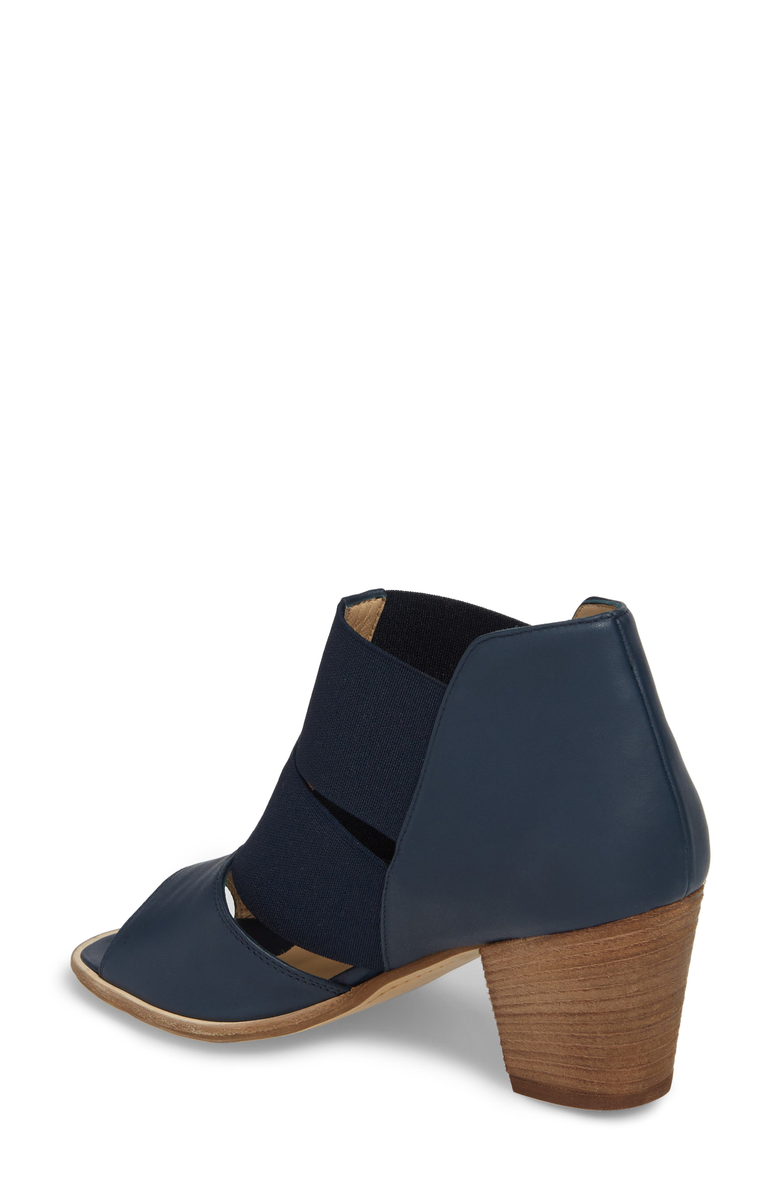 Cestello Bootie,                             Alternate thumbnail 2, color,                             Blue/ Green Leather