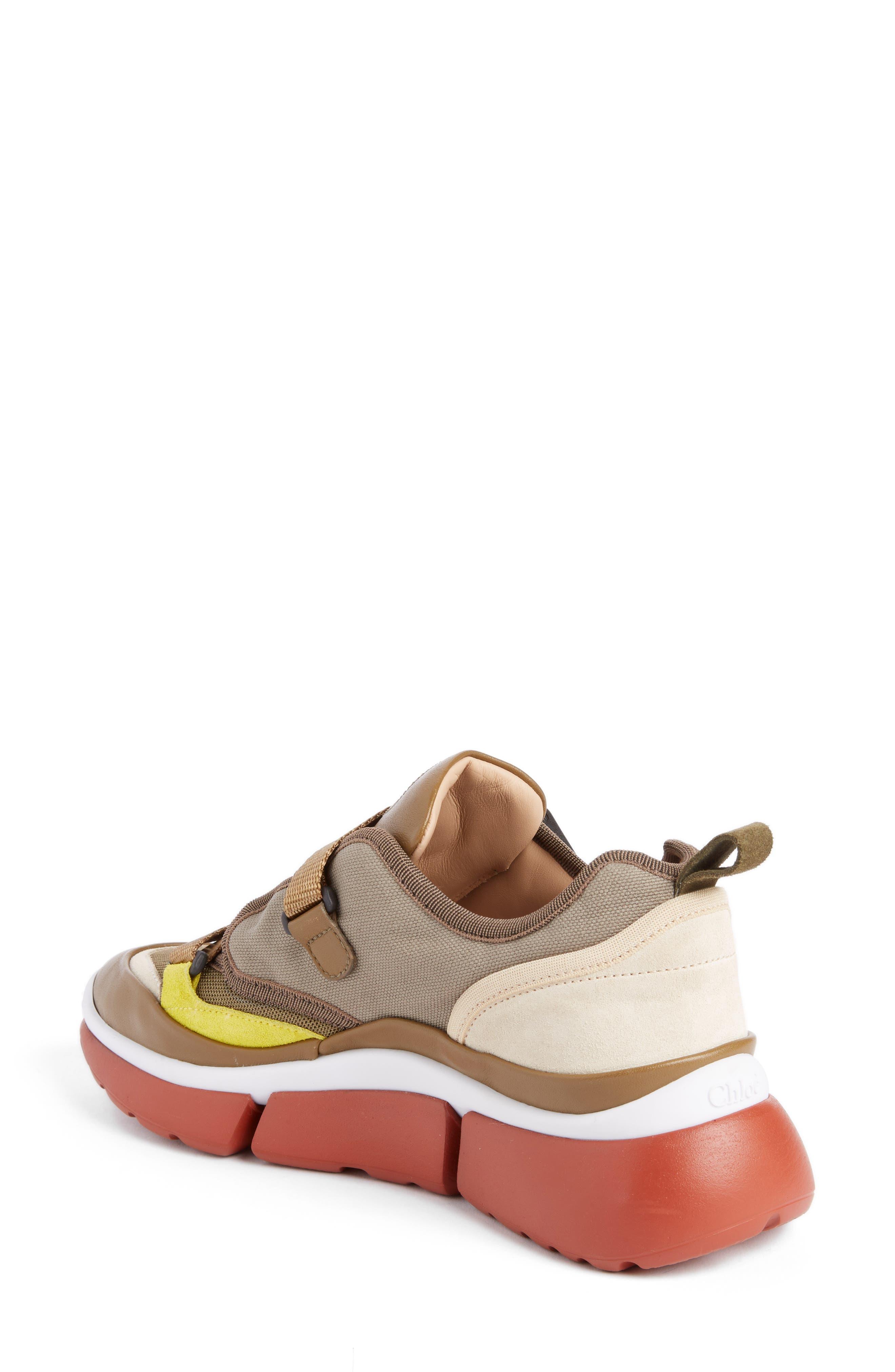 Sonnie Low Top Sneaker,                             Alternate thumbnail 2, color,                             Sooty Khaki
