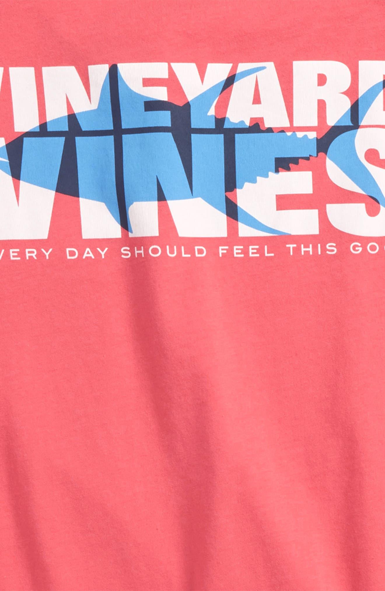Tuna Shadows Pocket T-Shirt,                             Alternate thumbnail 3, color,                             Jetty Red
