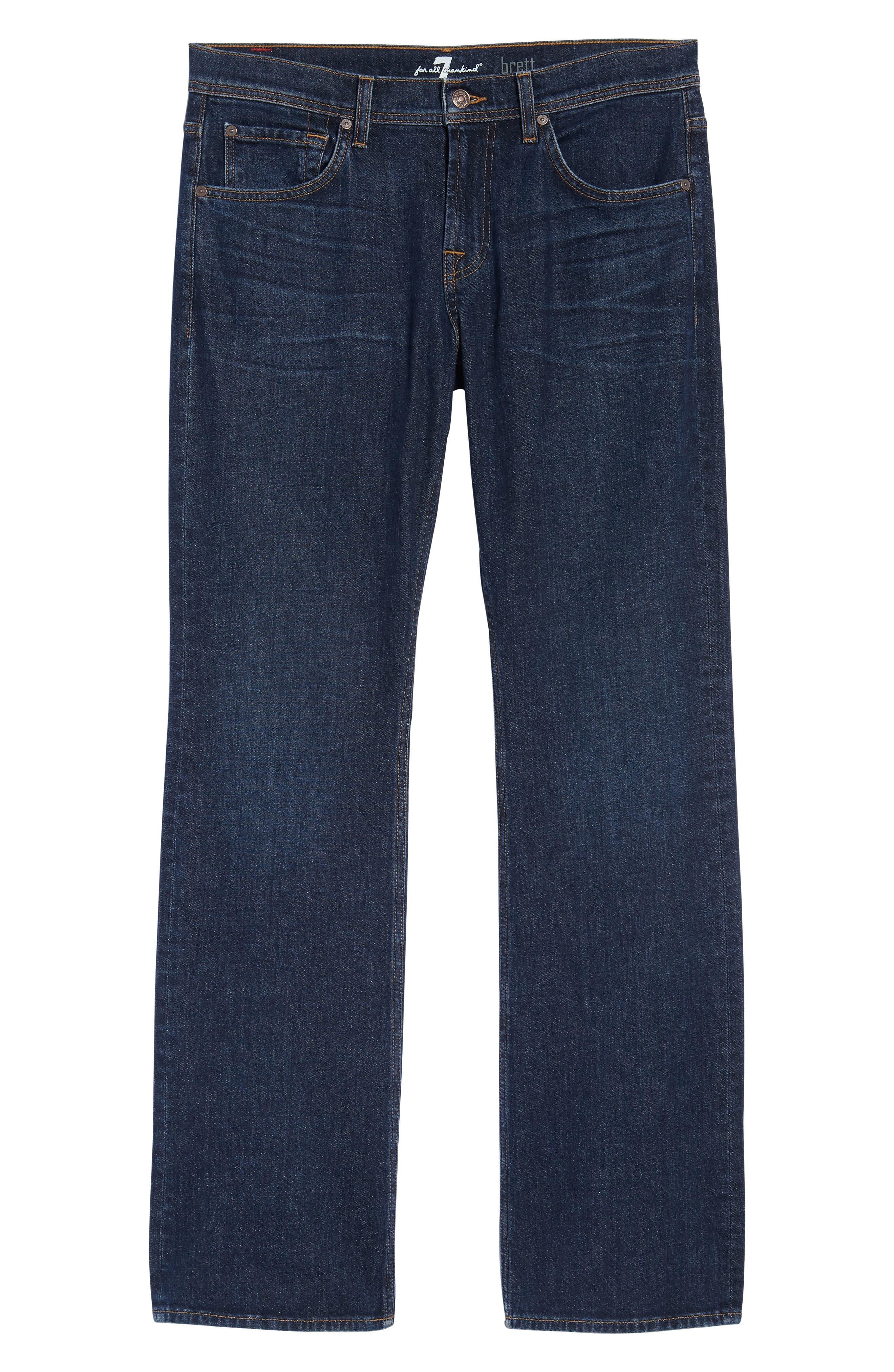Brett Bootcut Jeans,                             Alternate thumbnail 6, color,                             Forfeit