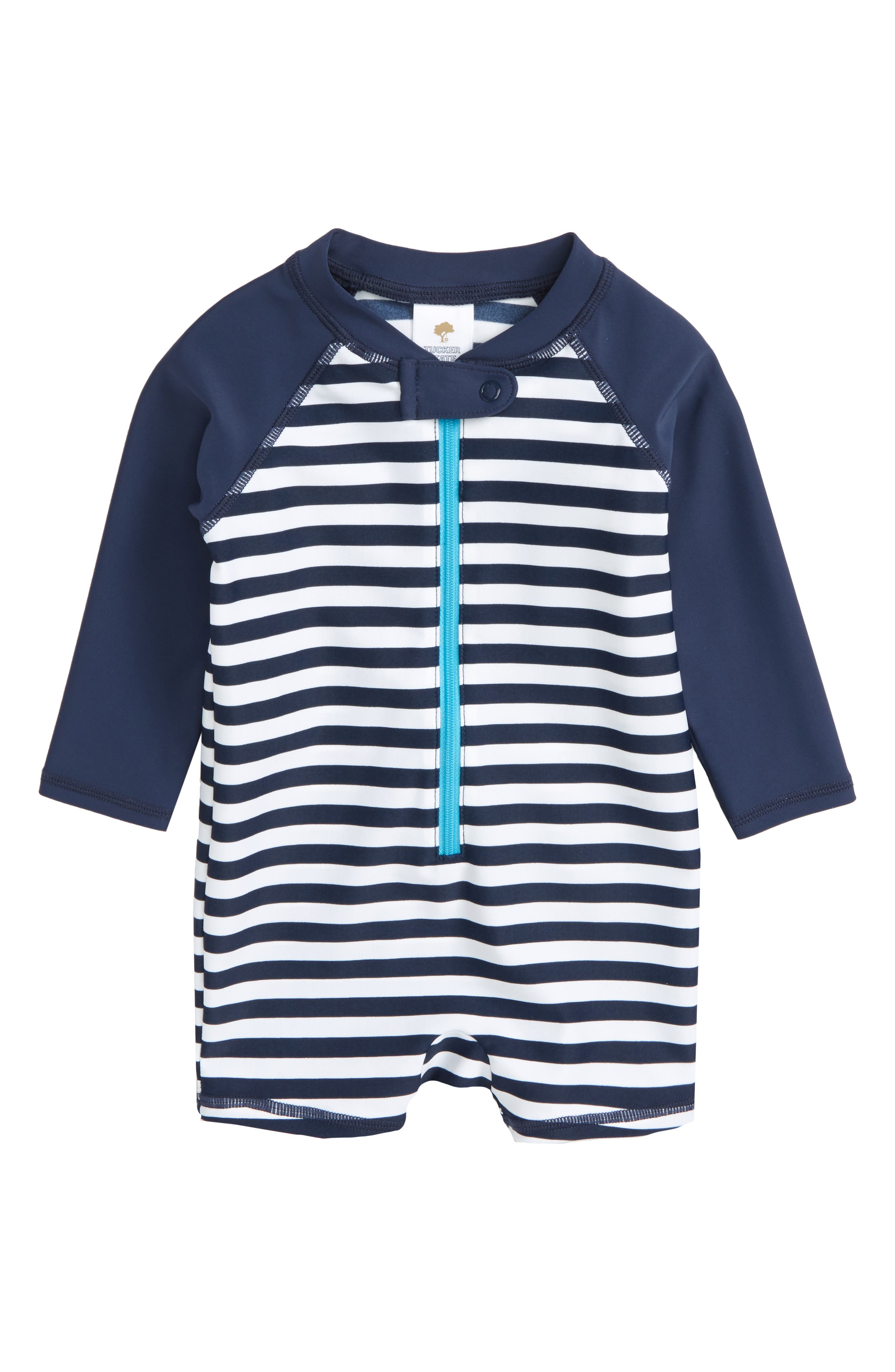 Tucker + Tate One-Piece Rashguard Swimsuit (Baby Boys)