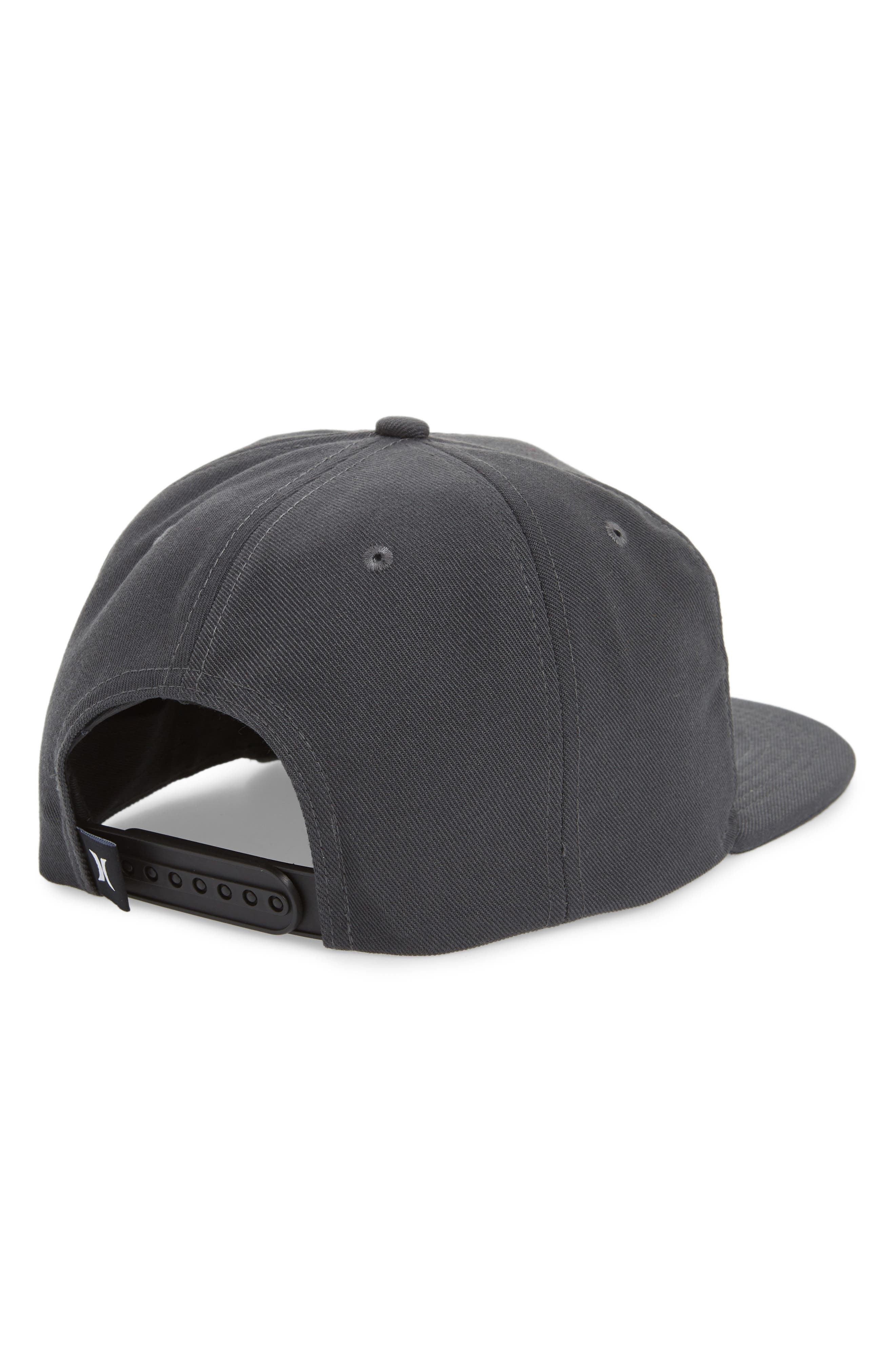 Circular Logo Patch Hat,                             Alternate thumbnail 2, color,                             Anthracite