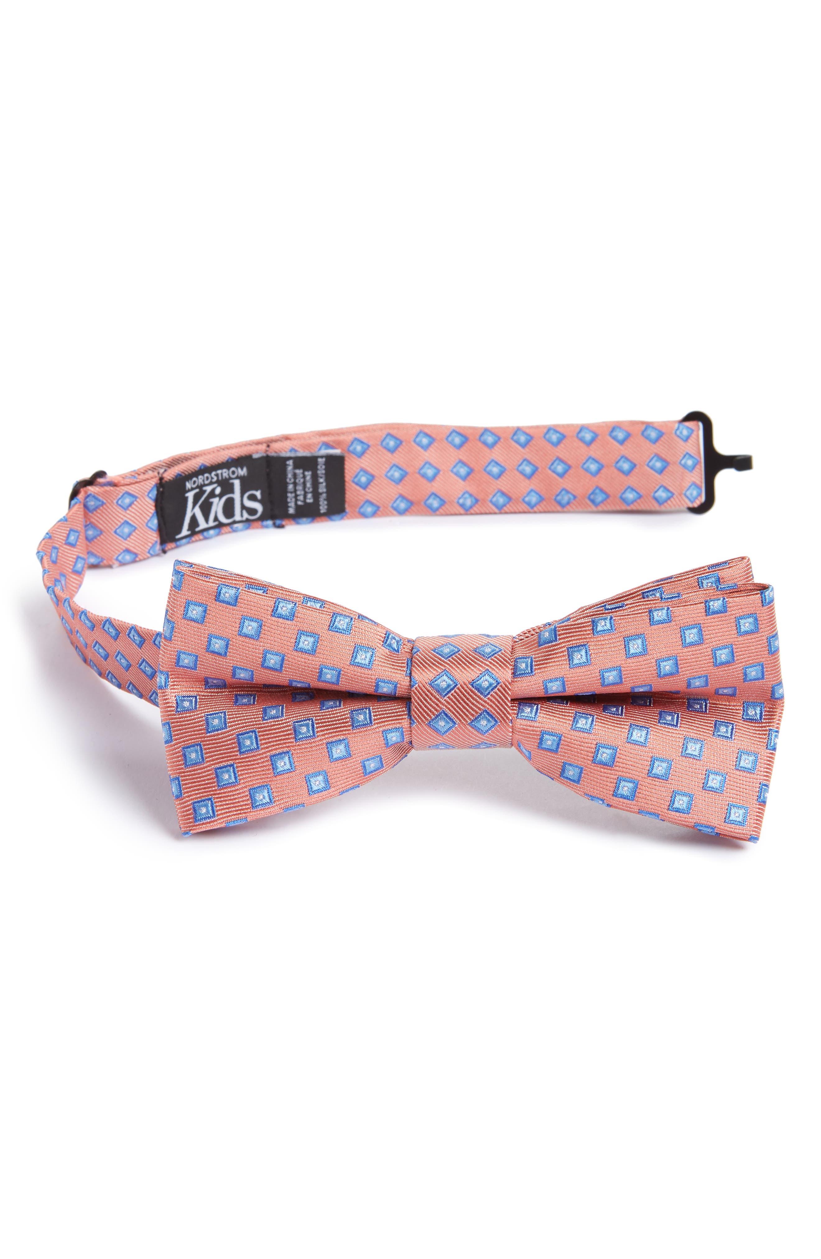Nordstrom Piazza Geometric Silk Bow Tie (Big Boys)