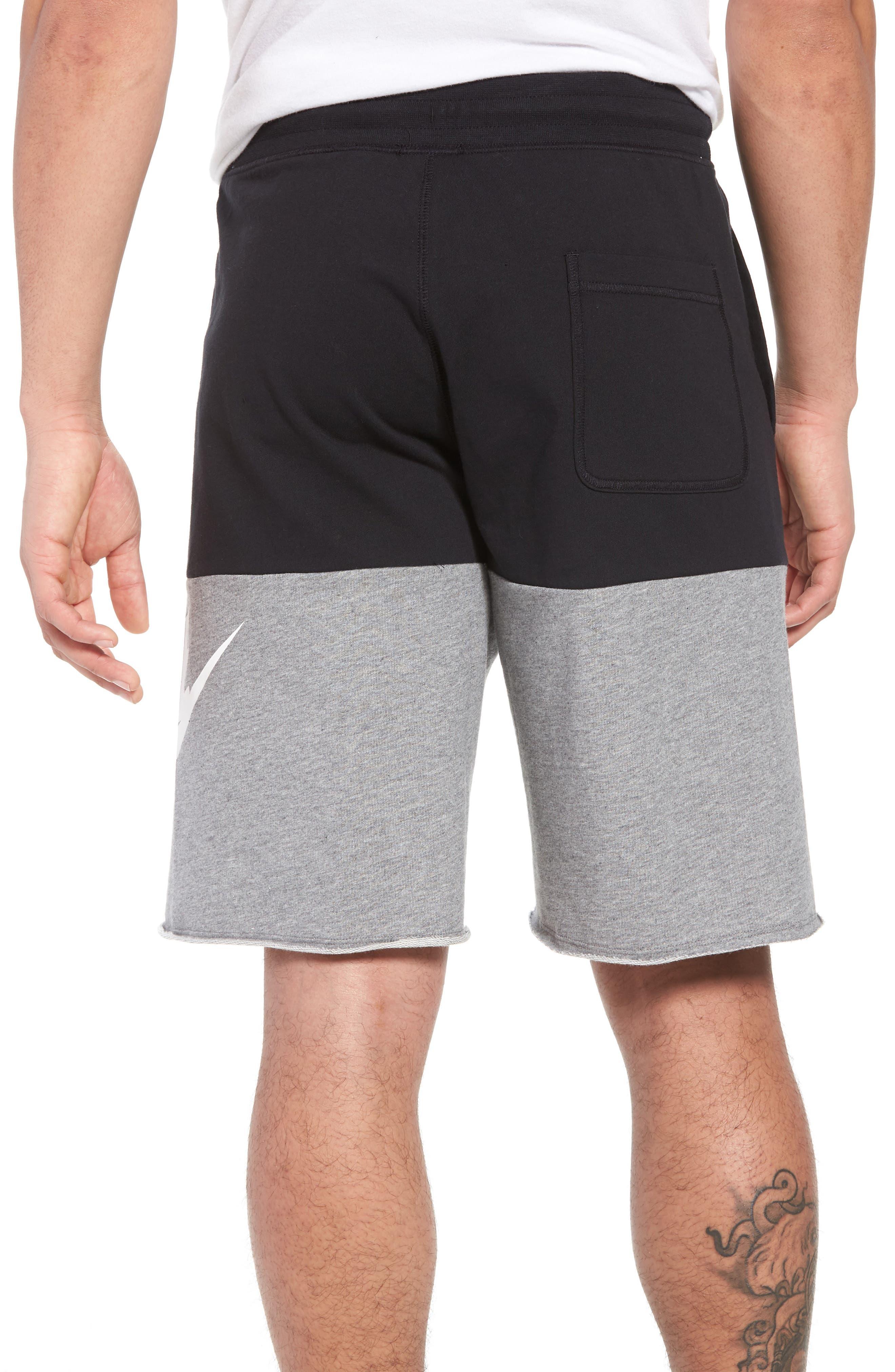 NSW Franchise GX3 Shorts,                             Alternate thumbnail 2, color,                             Black/ Carbon Heather/ White