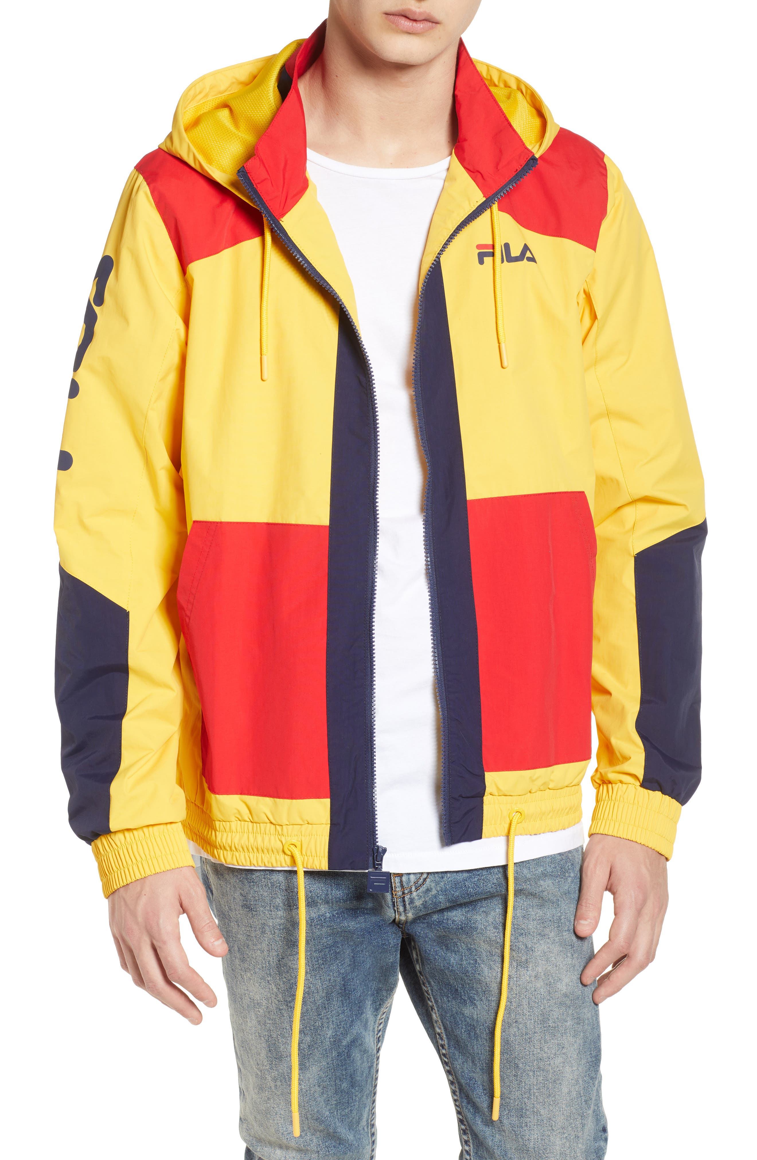 FILA Earl Zip Up Hooded Jacket