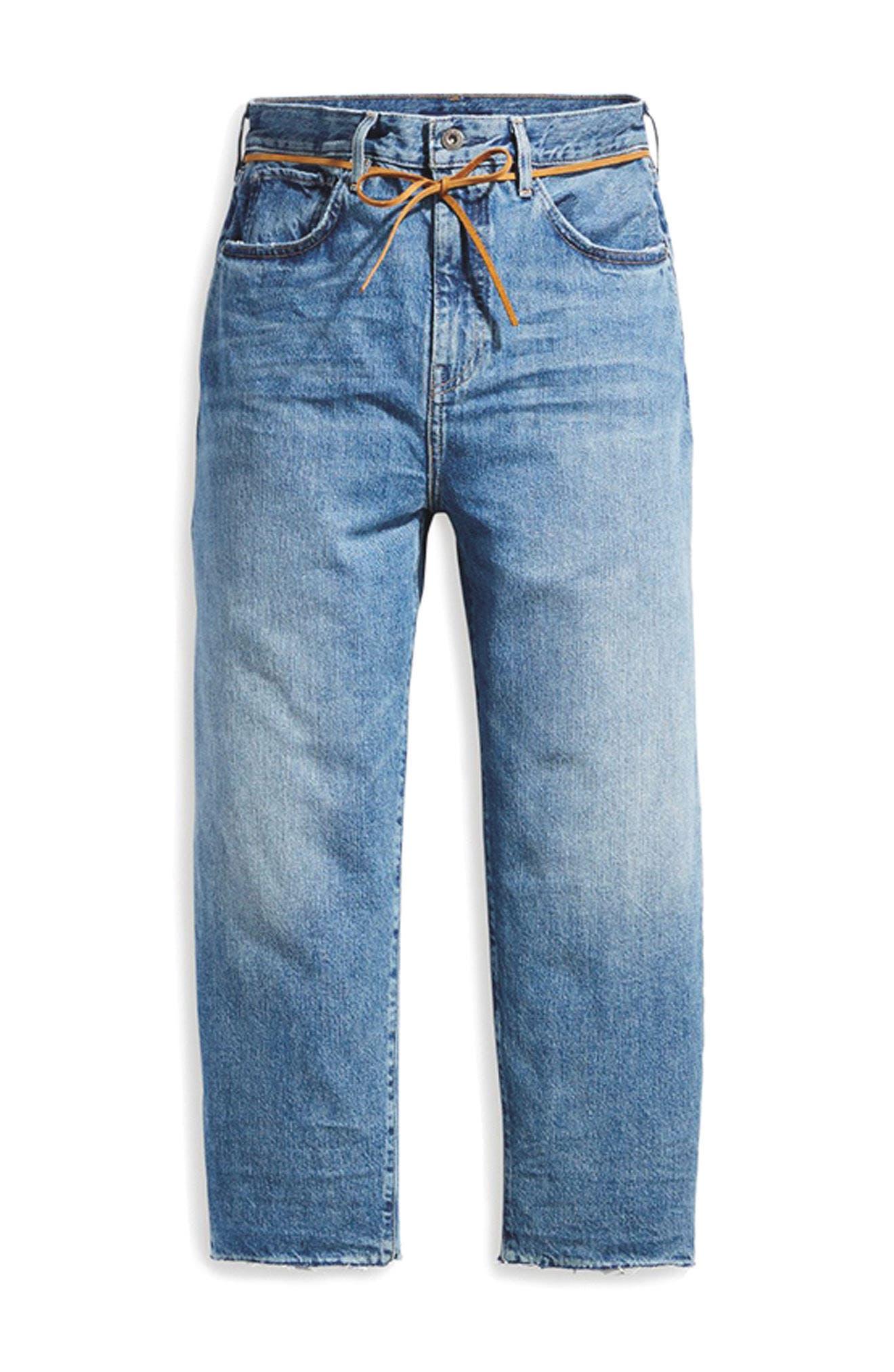 Barrel Jeans,                             Alternate thumbnail 7, color,