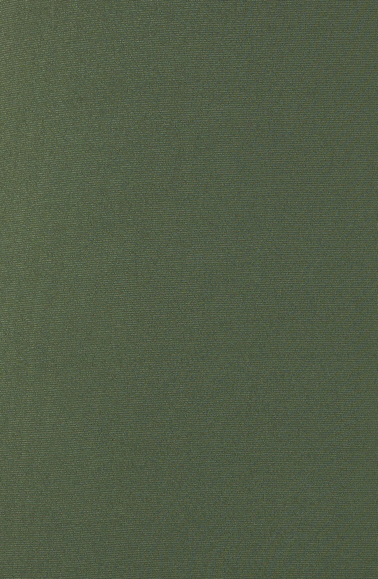 Chain Strap Popover Maxi Dress,                             Alternate thumbnail 6, color,                             Jade