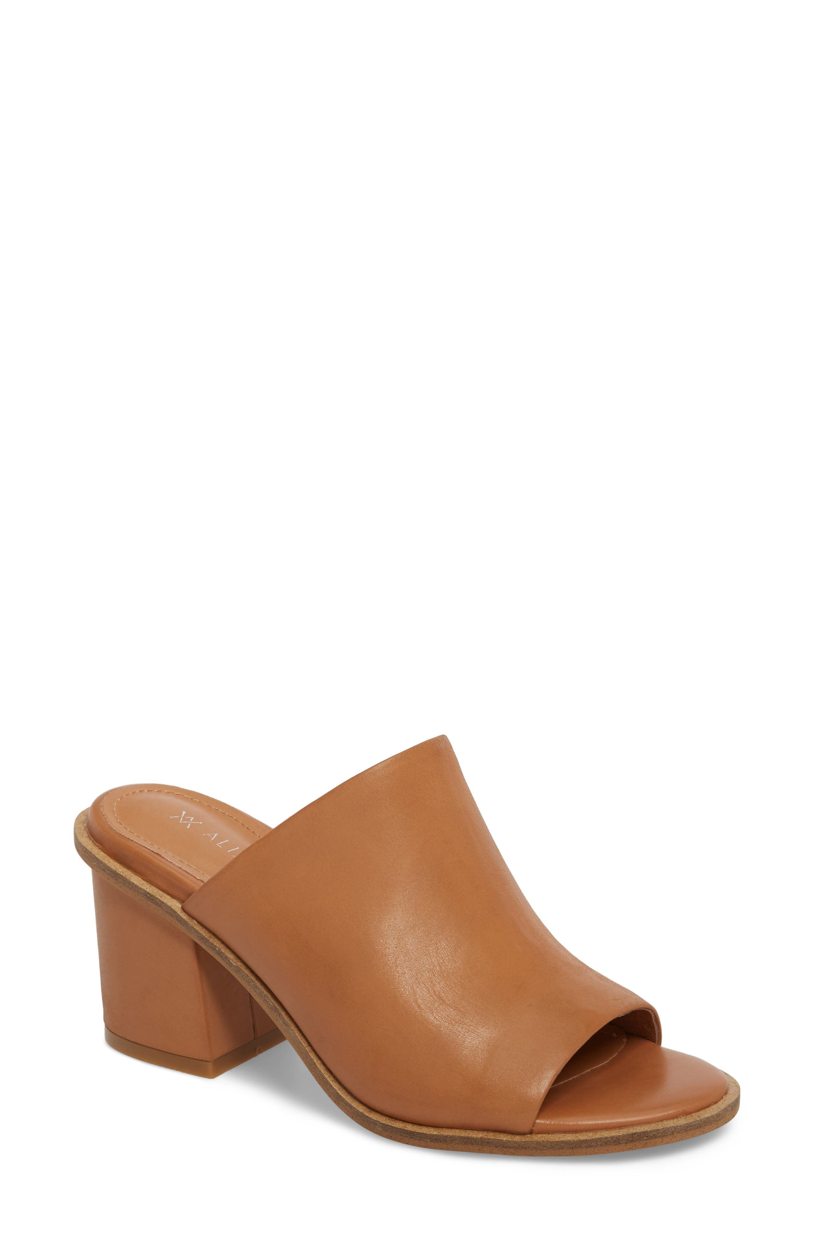 Gibson Mule,                             Main thumbnail 1, color,                             Tan Nubuck Leather