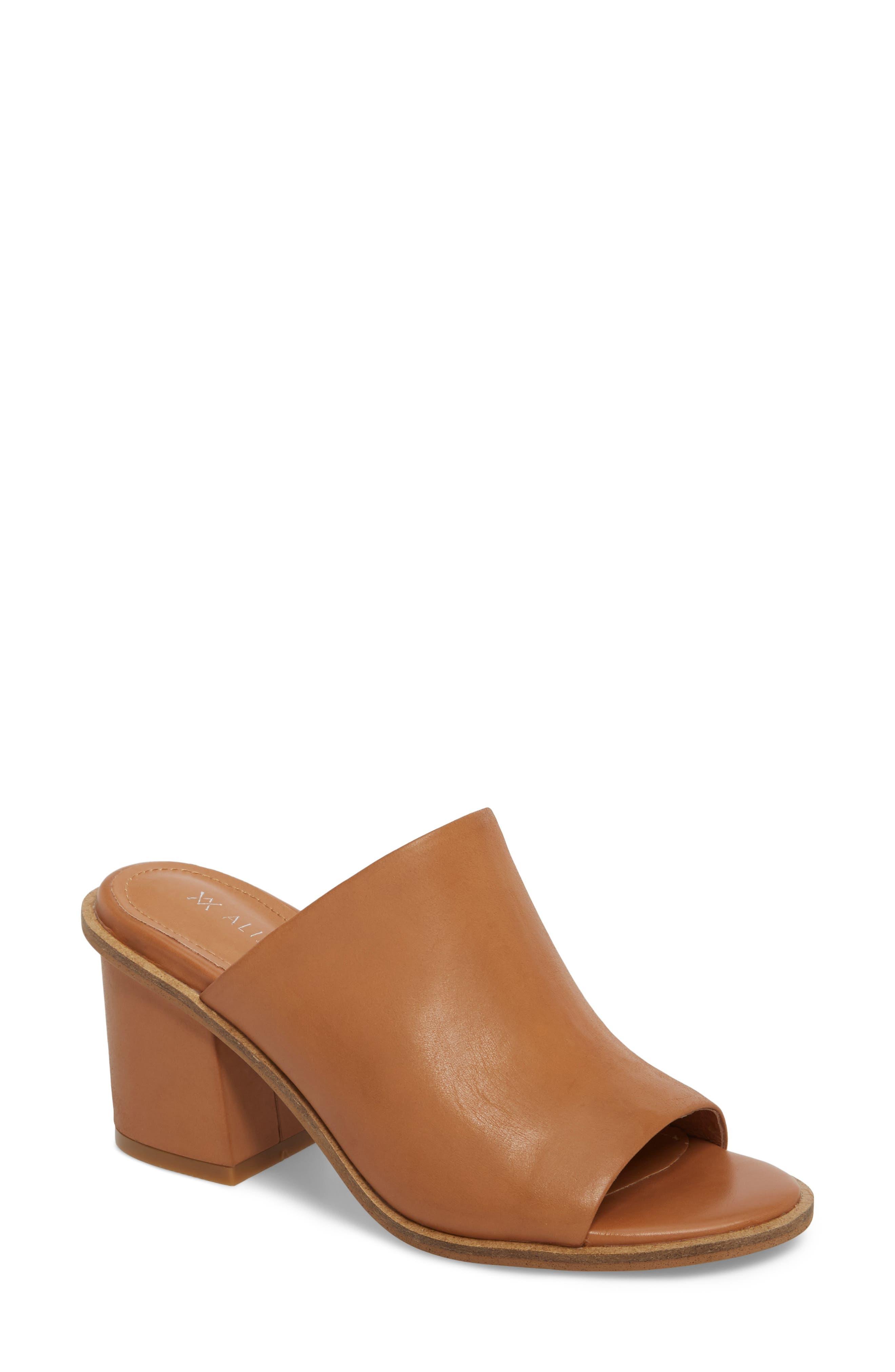 Gibson Mule,                         Main,                         color, Tan Nubuck Leather