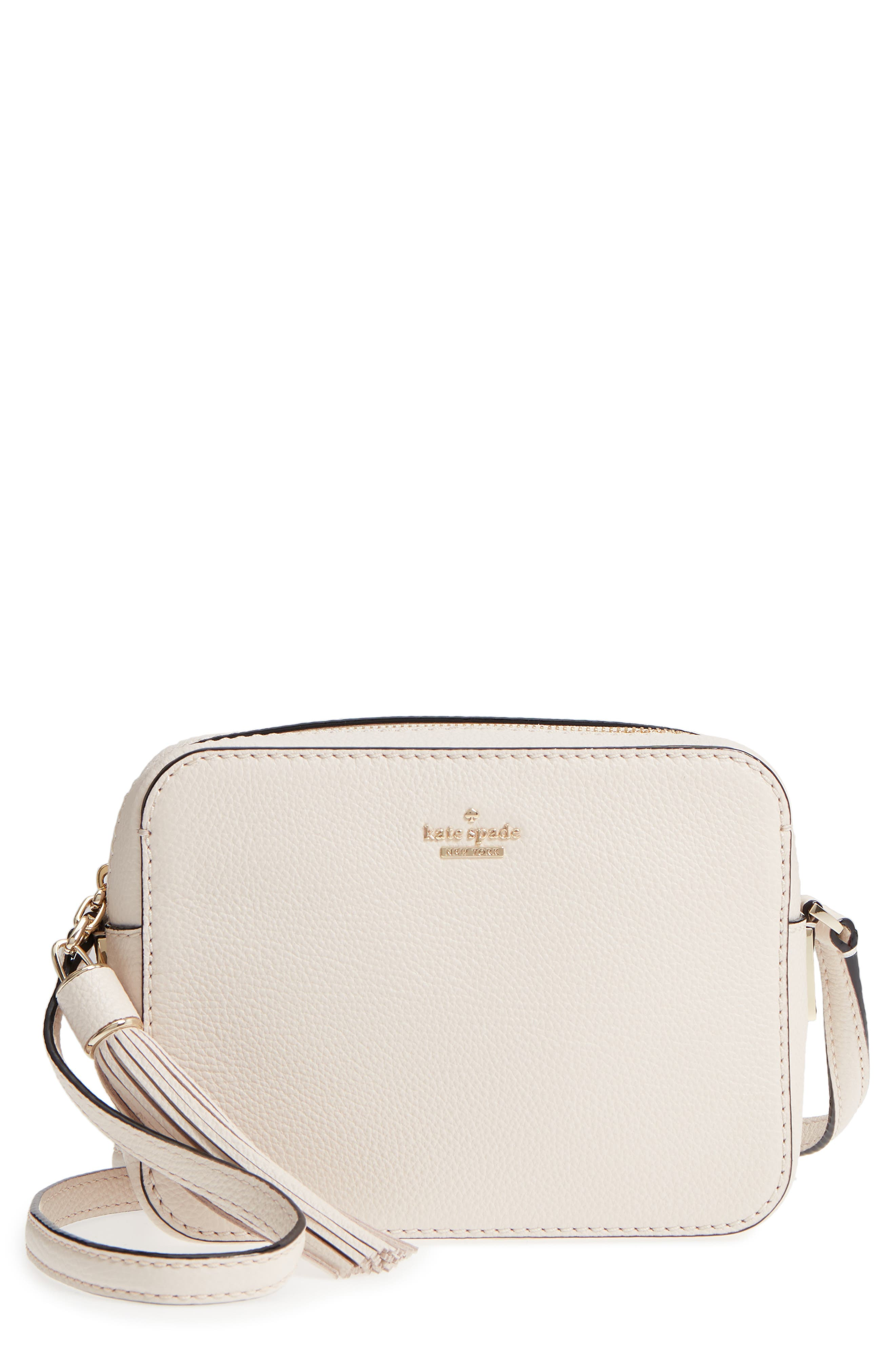 kate spade new york kingston drive – arla leather crossbody bag