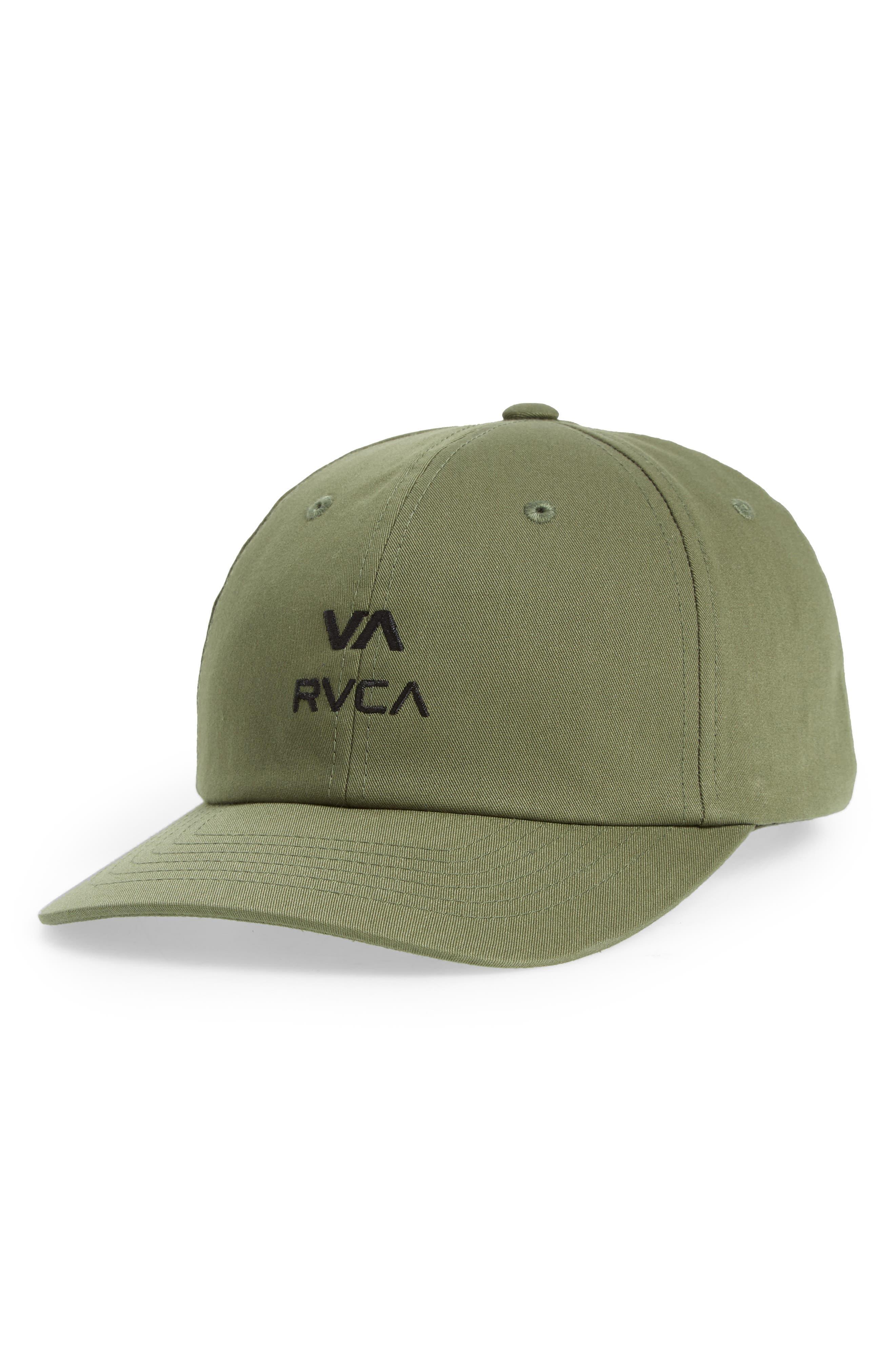 RVCA Santiago Embroidered Ball Cap