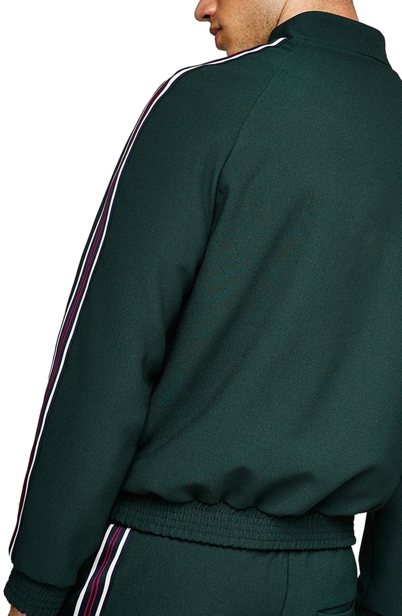 Track Jacket,                             Alternate thumbnail 2, color,                             Green Multi