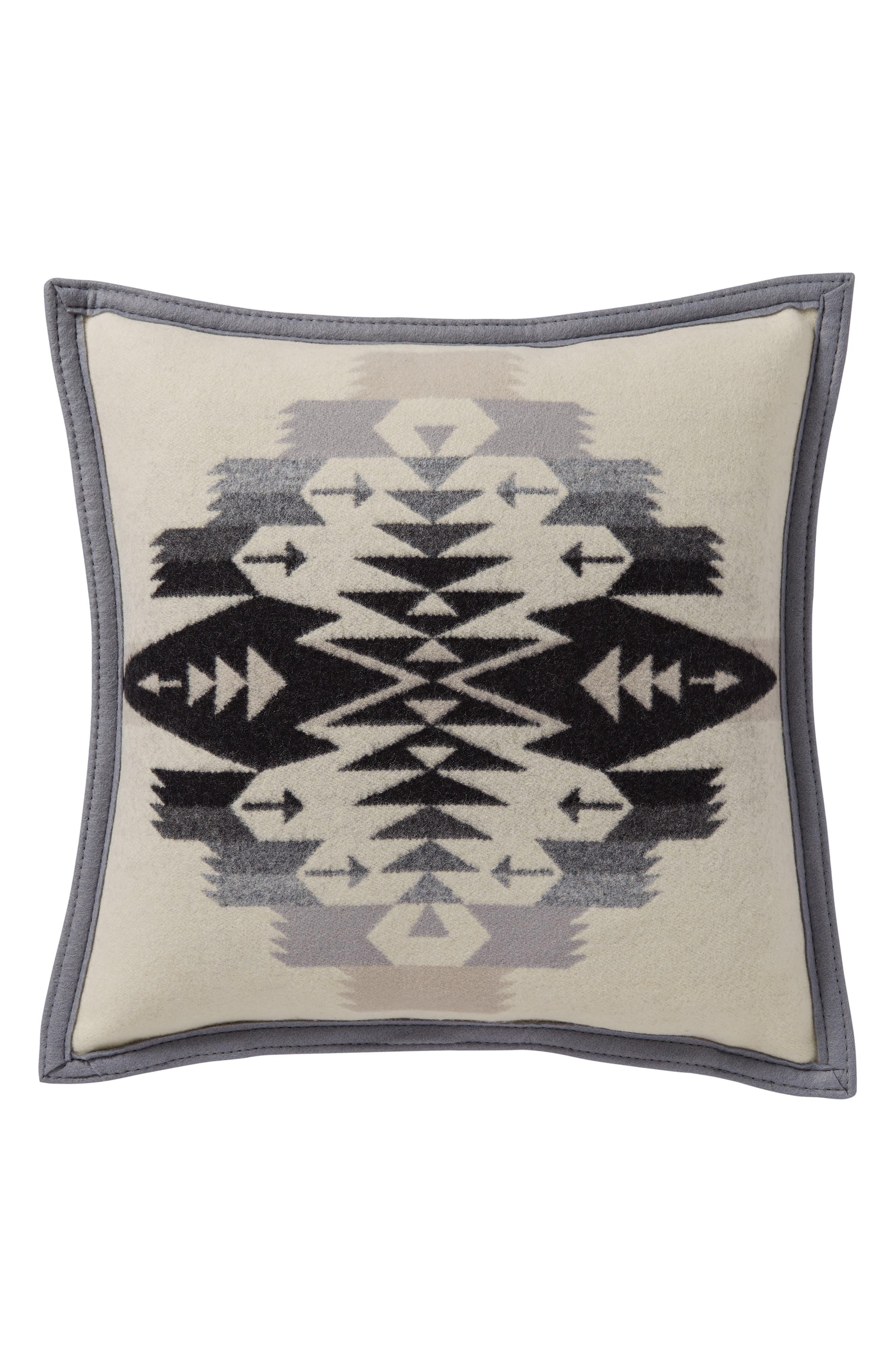 Tucson Accent Pillow,                         Main,                         color, Ivory
