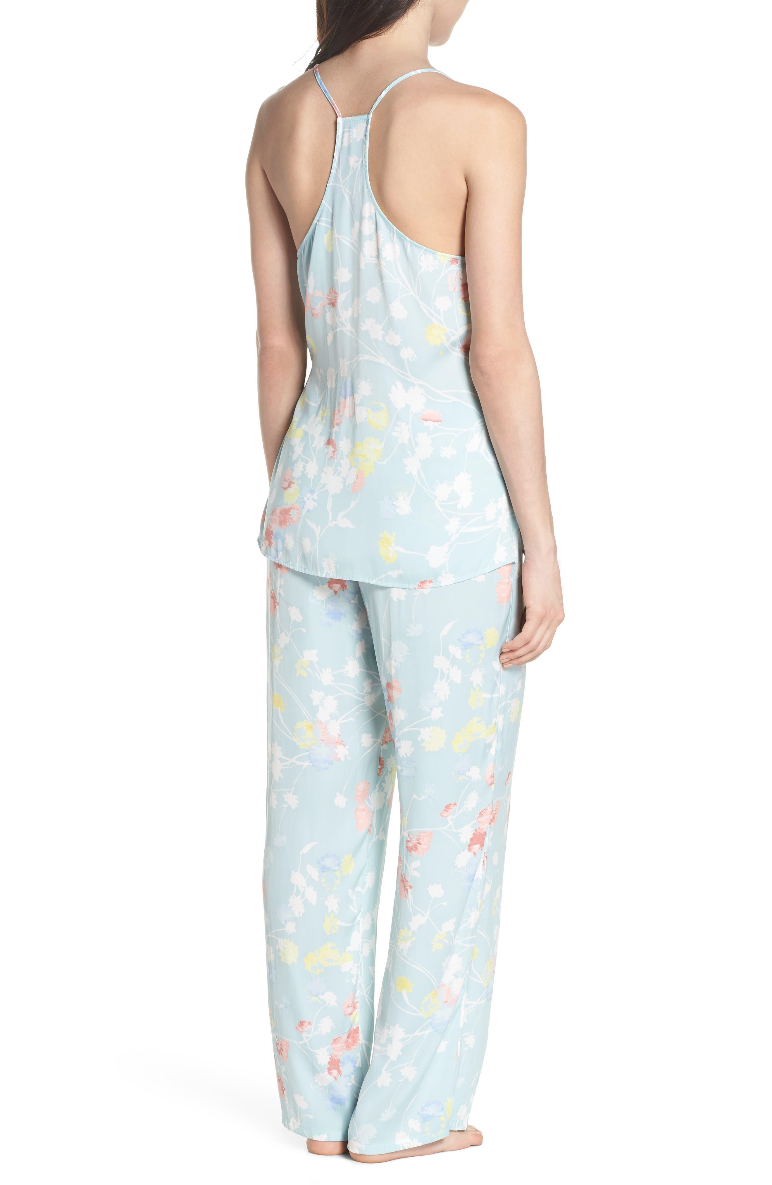 Bardot Dreamland Pajamas,                             Alternate thumbnail 2, color,                             Sgb Seaglass