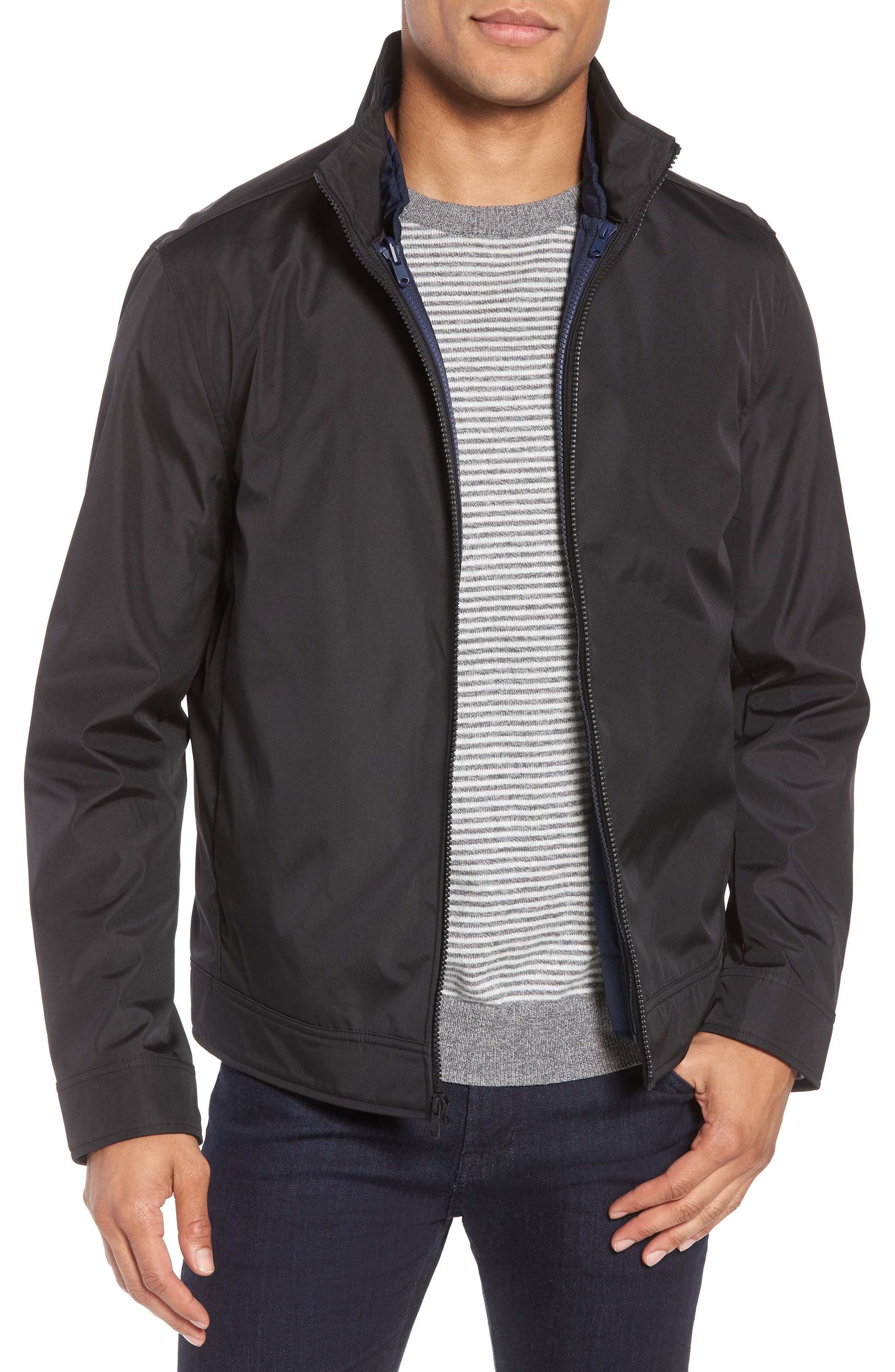 Oxford 2-in-1 Jacket,                         Main,                         color, Navy