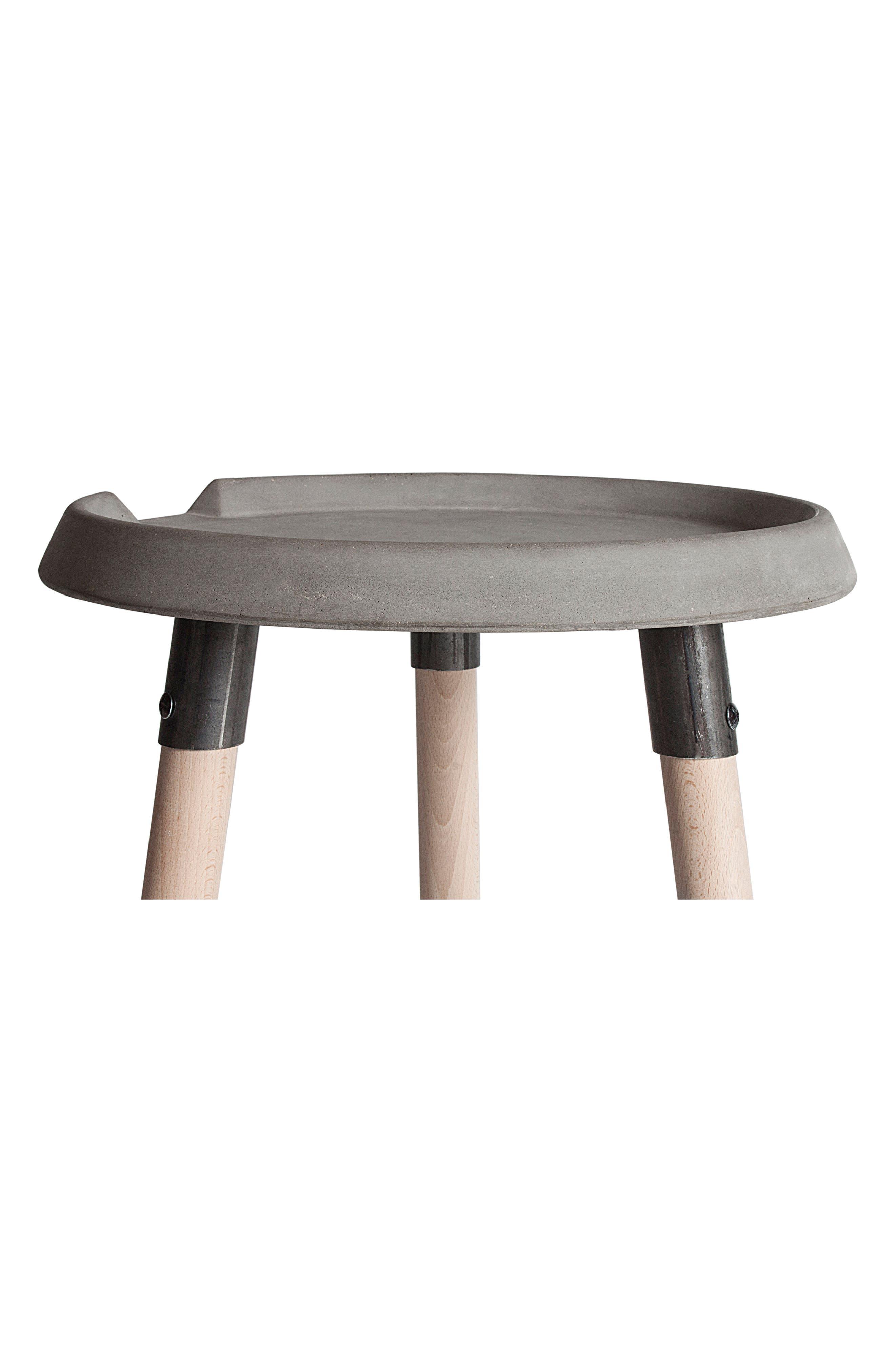 Lyon Béton Mix Side Table,                             Alternate thumbnail 2, color,                             Cement
